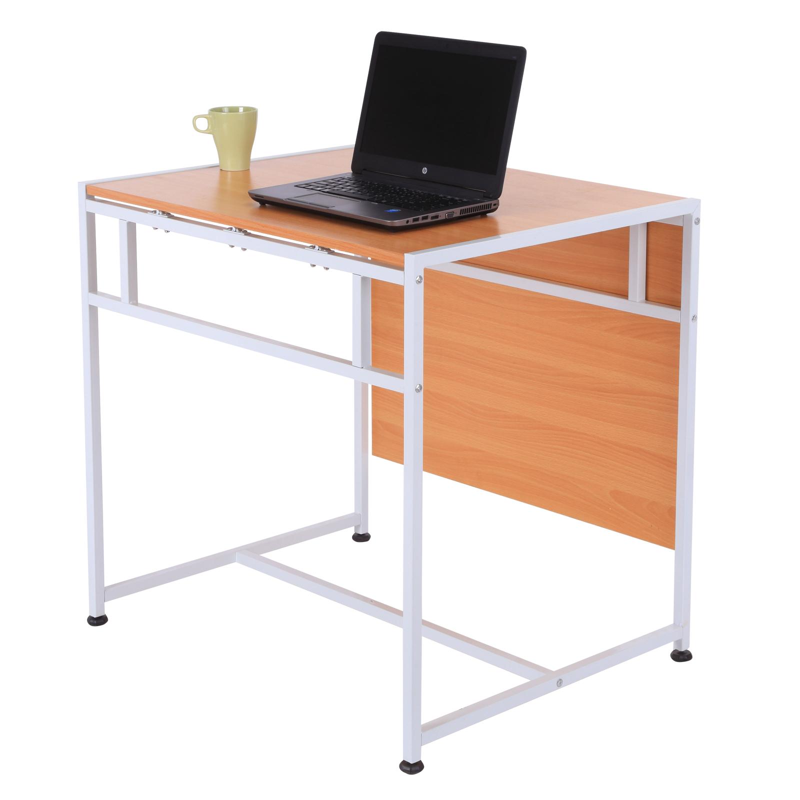 Mesa Plegable para Comedor Salón Mesa de Ordenador Escritorio Mesa ...