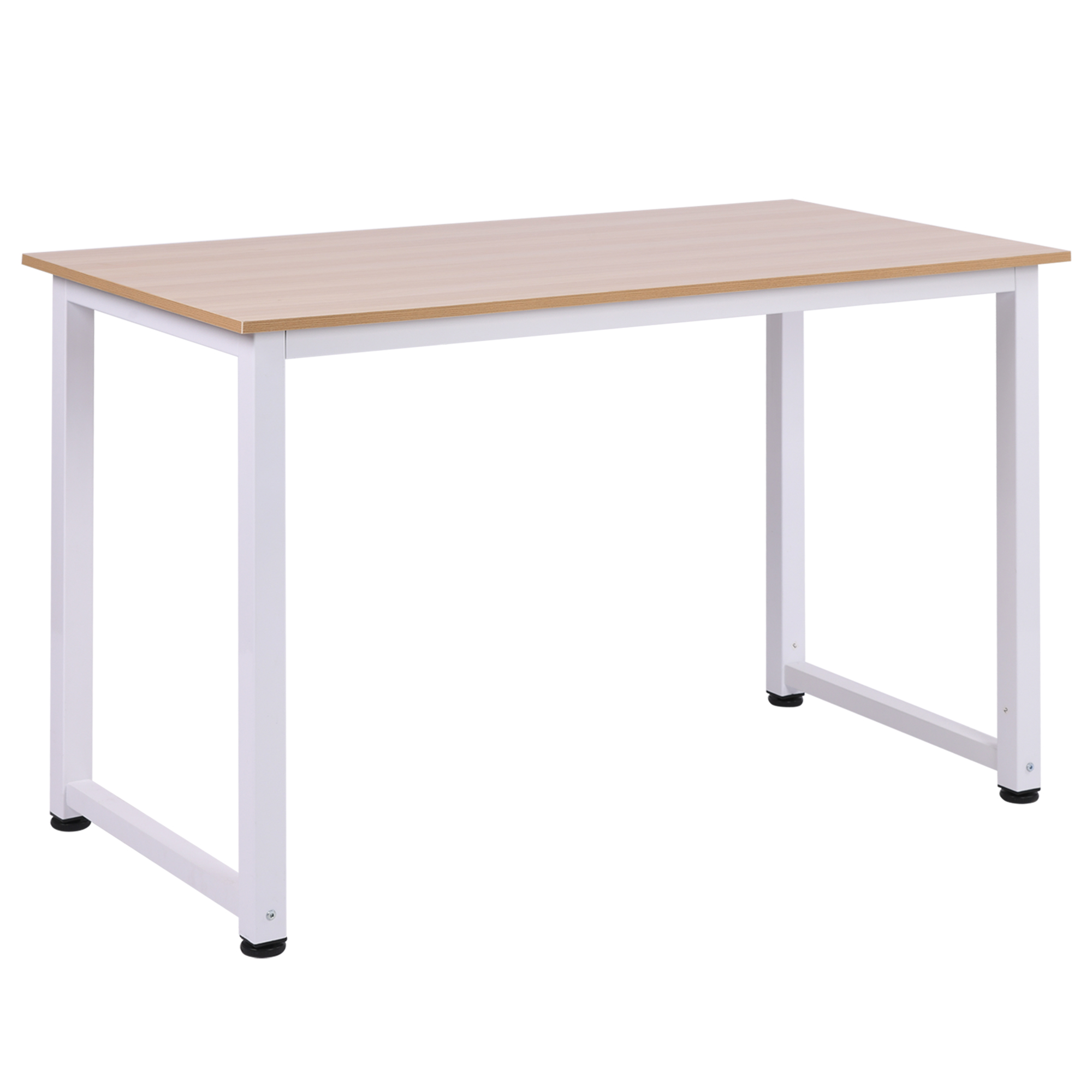 miniatura 3 - Mesa de Ordenador Escritorio para Hogar Oficina Pies Ajustables 120x60x76cm