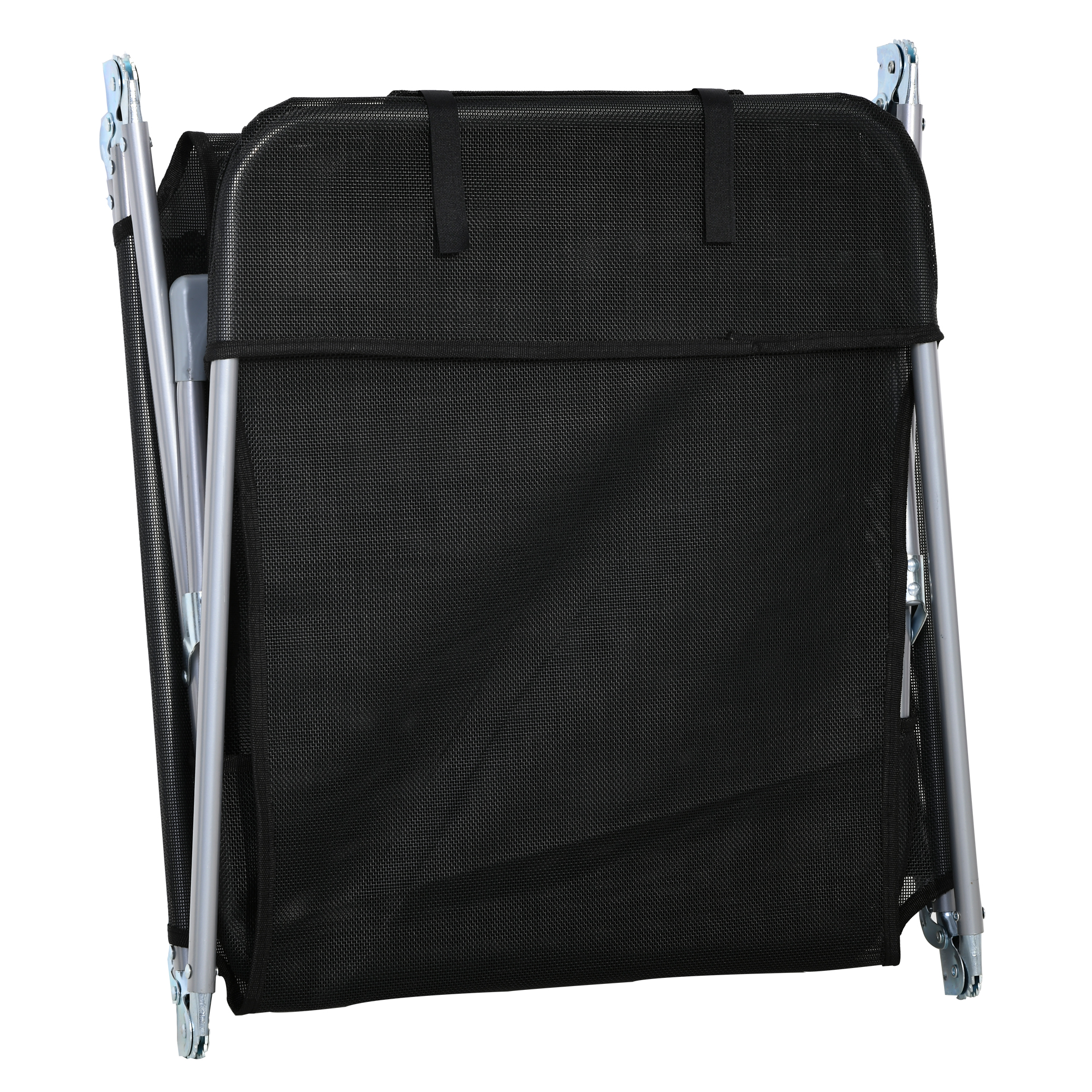 miniatura 23 - Tumbona Plegable y Reclinable con Reposacabezas y Respaldo Ajustable COLOR