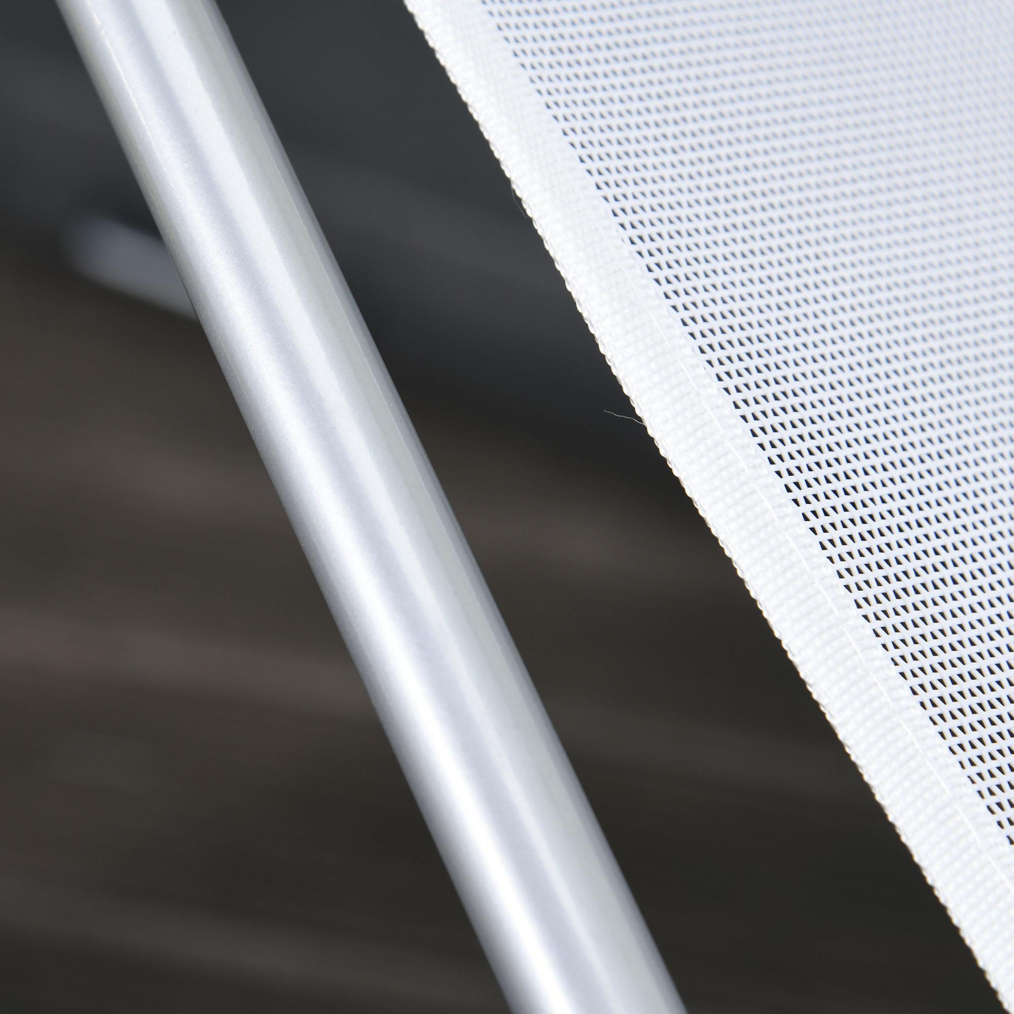 miniatura 11 - Tumbona Plegable y Reclinable con Reposacabezas y Respaldo Ajustable COLOR