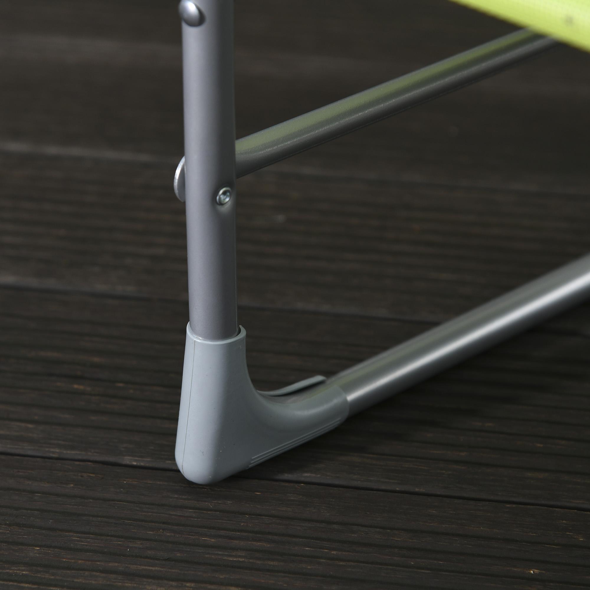 miniatura 38 - Tumbona Plegable y Reclinable con Reposacabezas y Respaldo Ajustable COLOR