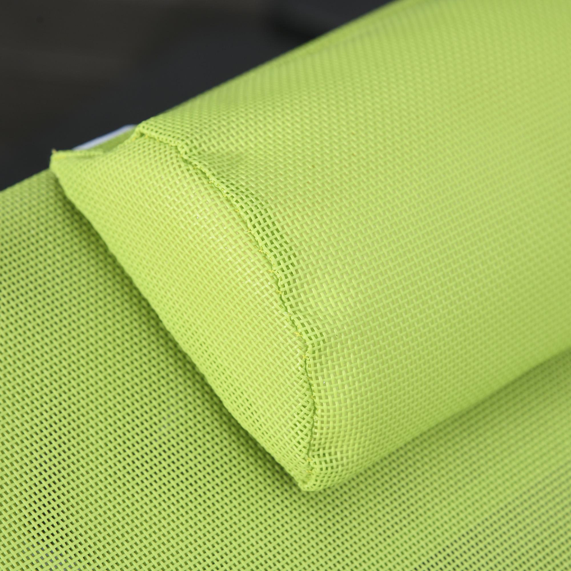 miniatura 31 - Tumbona Plegable y Reclinable con Reposacabezas y Respaldo Ajustable COLOR
