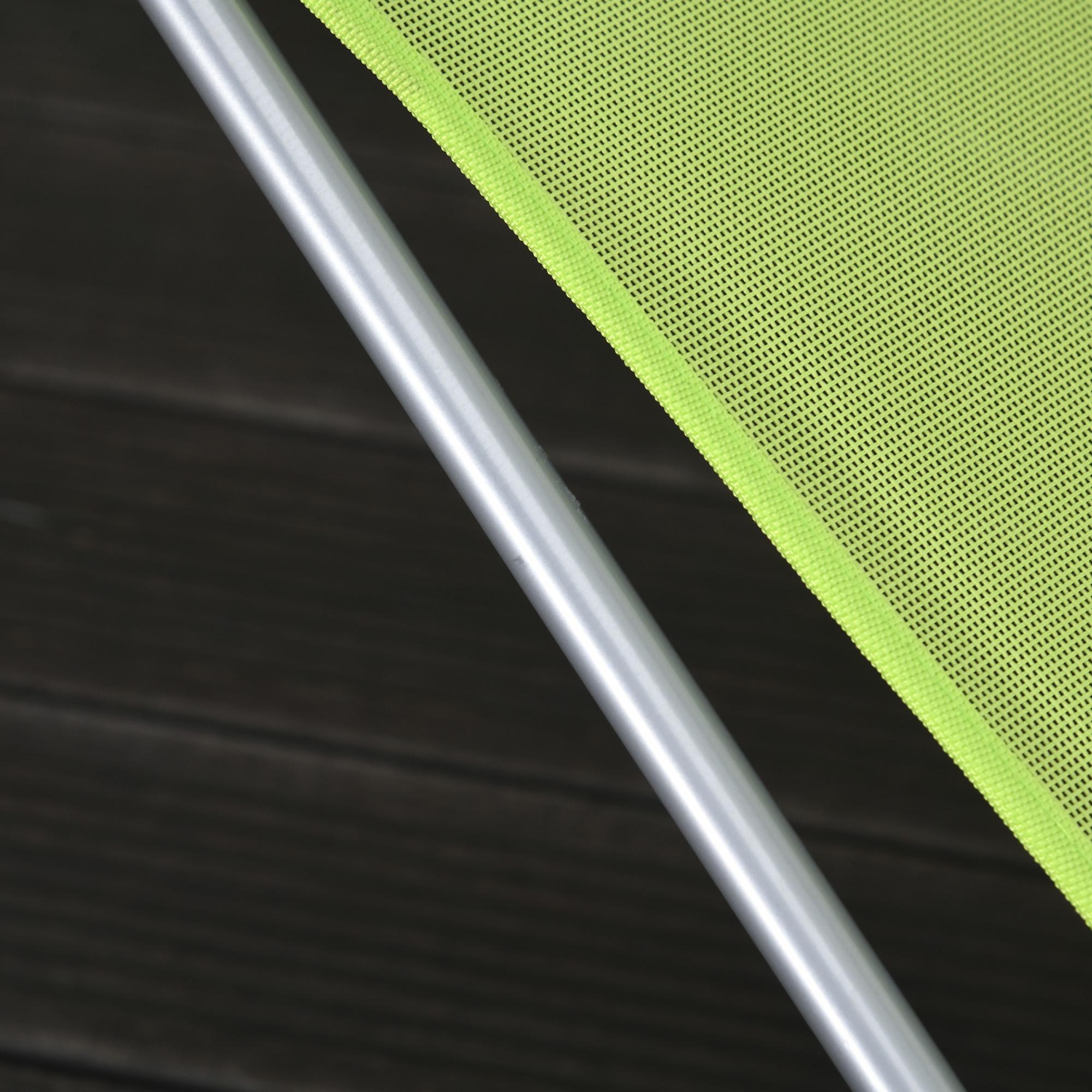 miniatura 37 - Tumbona Plegable y Reclinable con Reposacabezas y Respaldo Ajustable COLOR