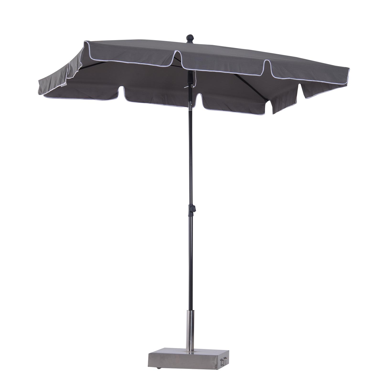 Sombrilla de terraza jard n parasol cuadrado inclinable - Sombrilla de terraza ...