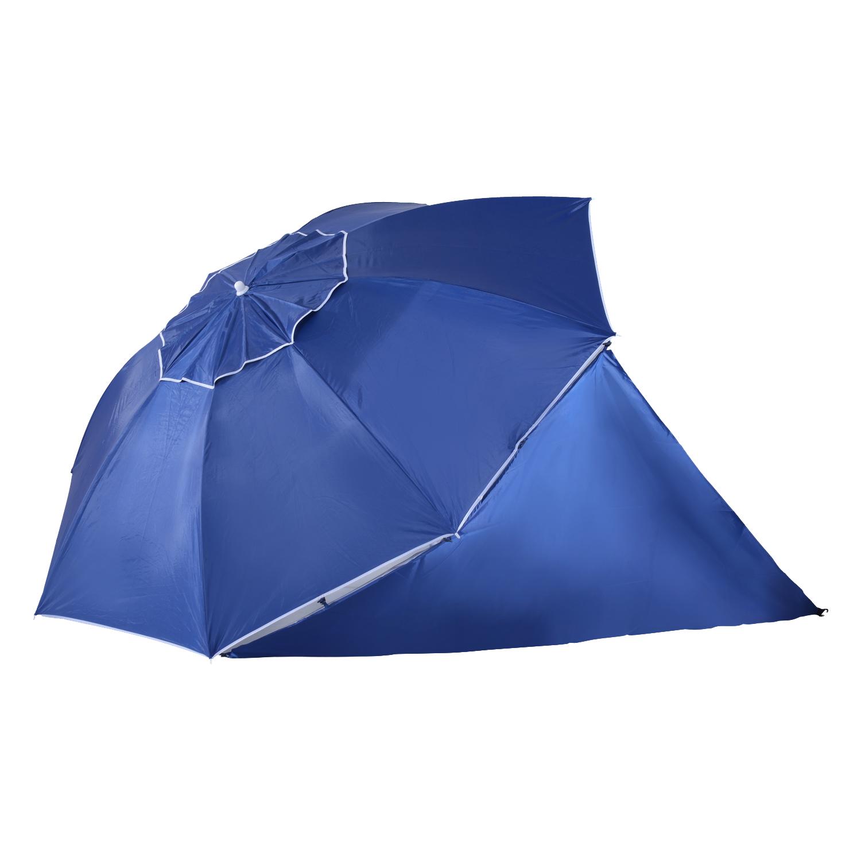 Sombrilla-de-Playa-Portatil-con-Paravientos-Tienda-Camping-Parasol-Proteccion-UV miniatura 12