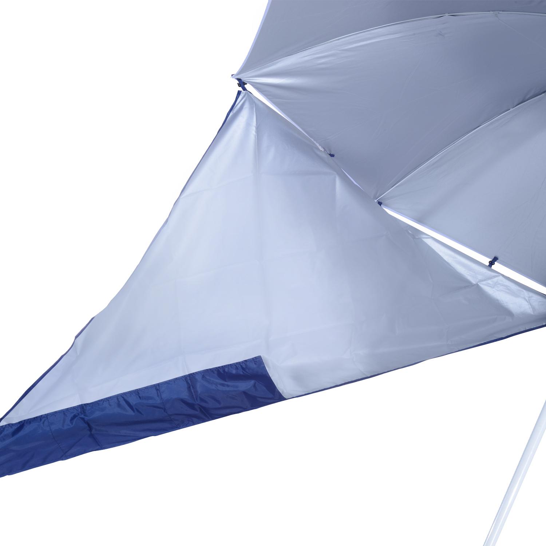 Sombrilla-de-Playa-Portatil-con-Paravientos-Tienda-Camping-Parasol-Proteccion-UV miniatura 9