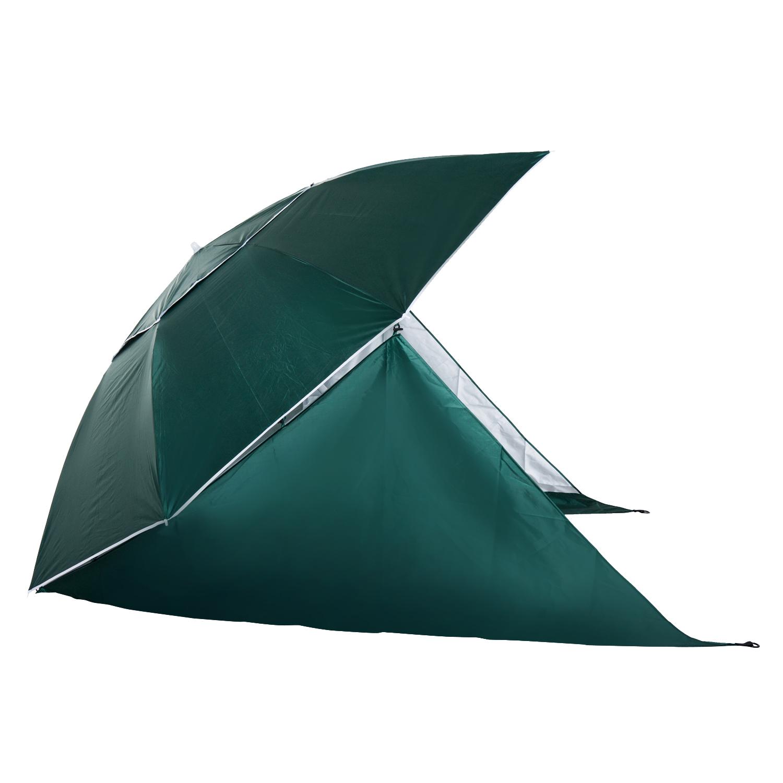 Sombrilla-de-Playa-Portatil-con-Paravientos-Tienda-Camping-Parasol-Proteccion-UV miniatura 24