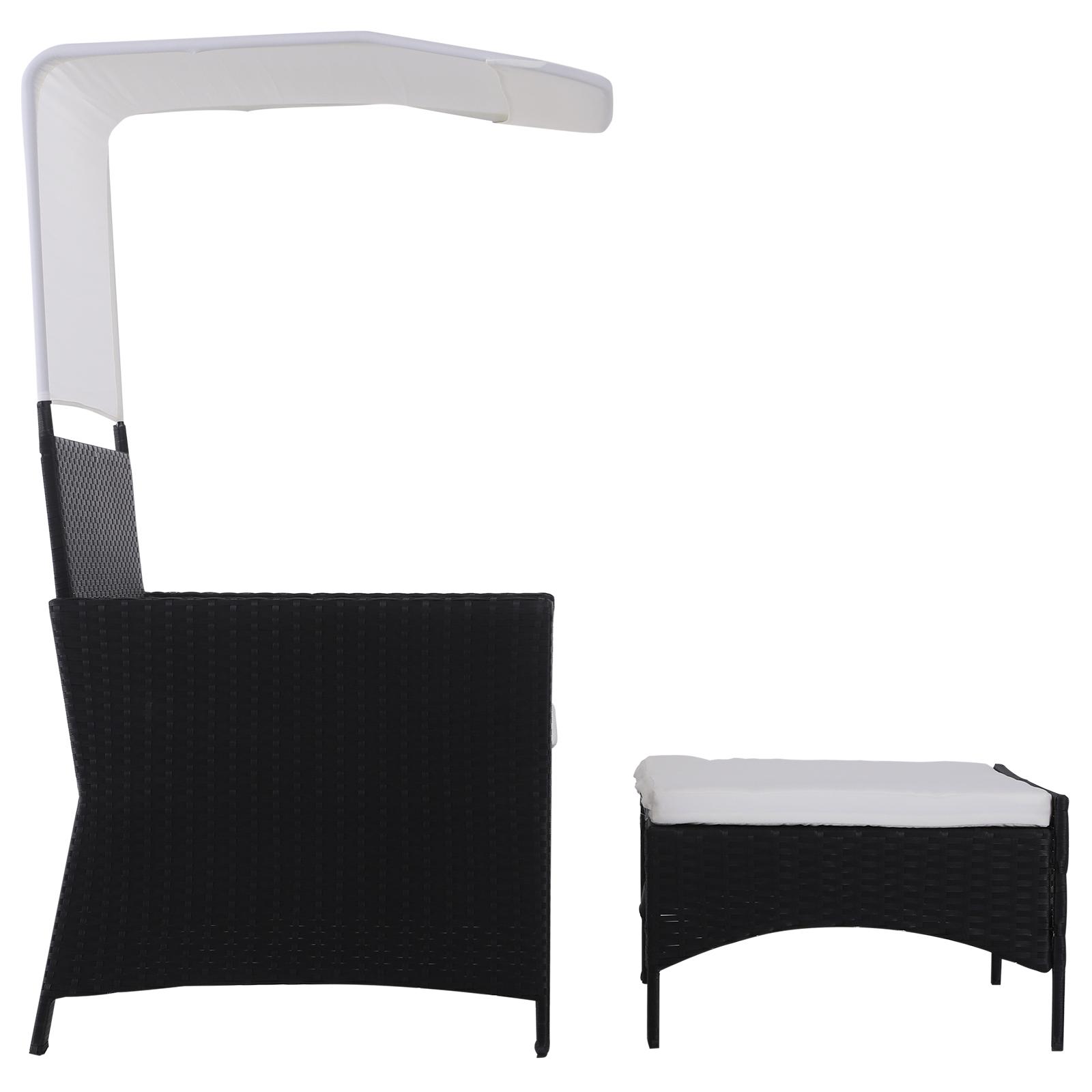 Sofa-de-Ratan-Dos-Plazas-Sillon-Mueble-Jardin-Terraza-con-Reposapies-Toldo-Cojin miniatura 22