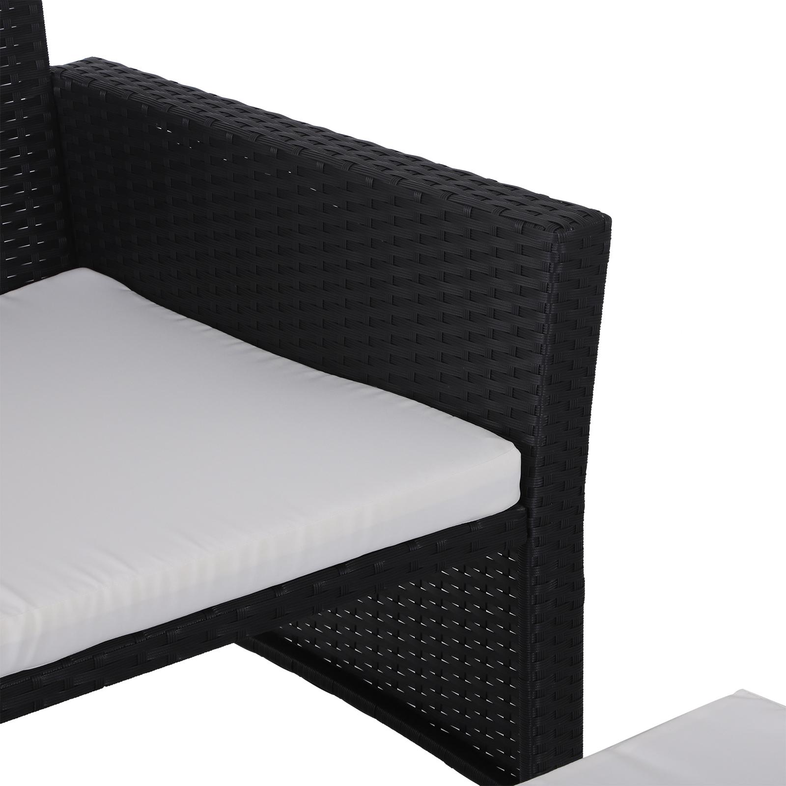 Sofa-de-Ratan-Dos-Plazas-Sillon-Mueble-Jardin-Terraza-con-Reposapies-Toldo-Cojin miniatura 17