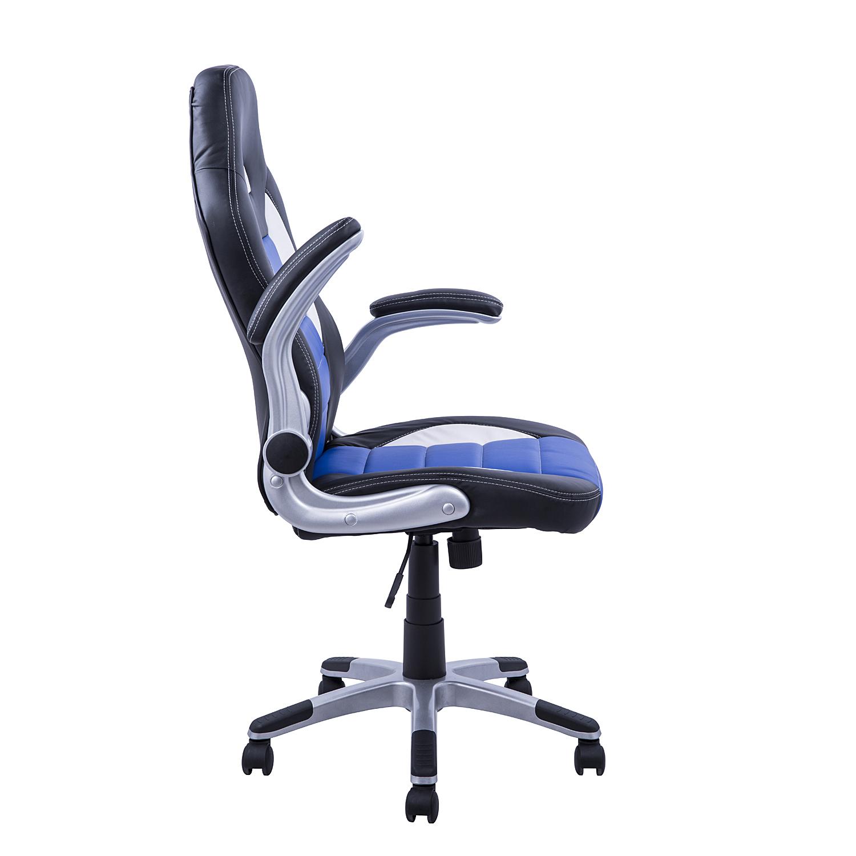 Homcom silla de oficina inclinable giratoria tipo for Oficinas race