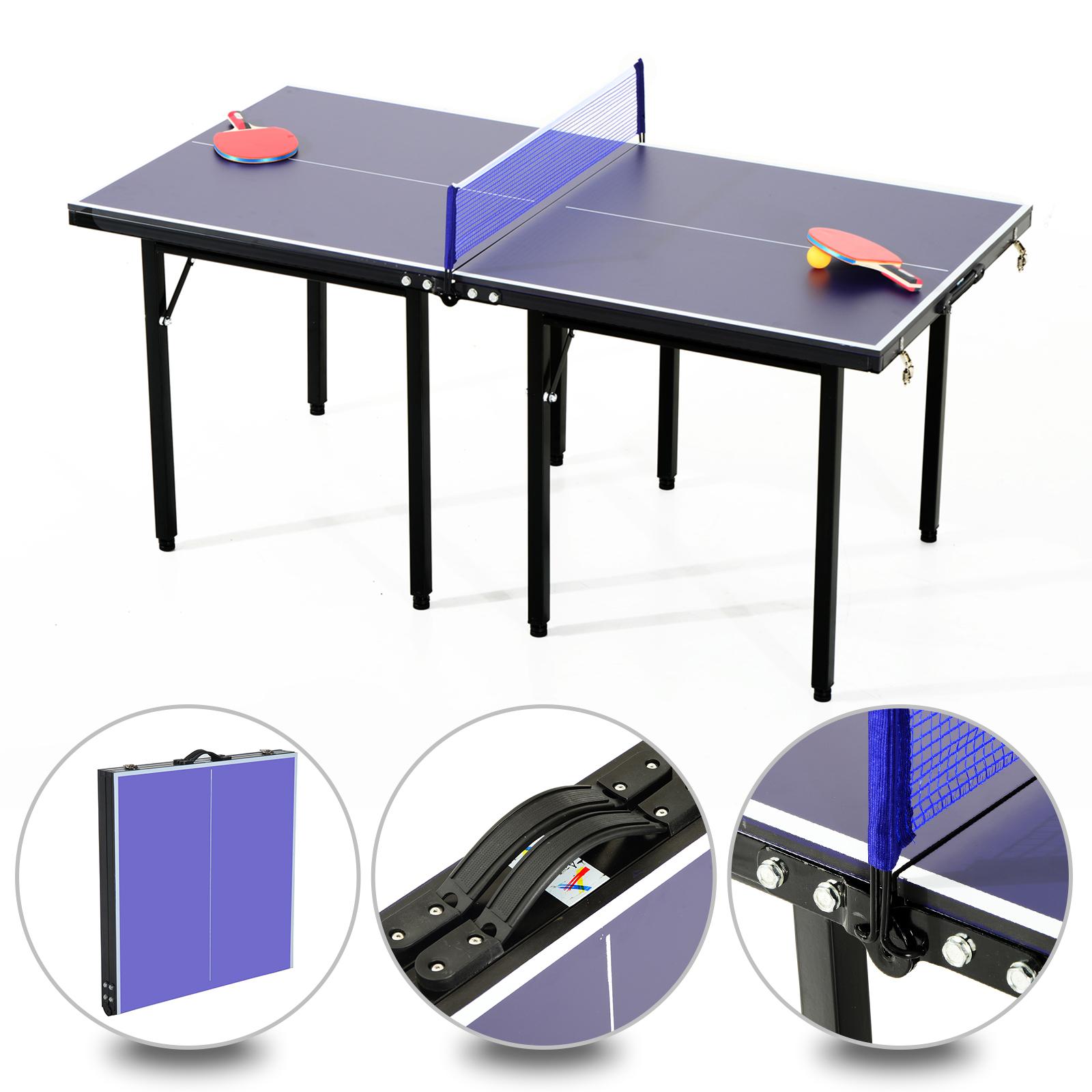 Portatil 5x67cmRed Detalles De Exterior 153x76 Mesa Plegable Ping Tenis Homcom Pong F3K1JcTl