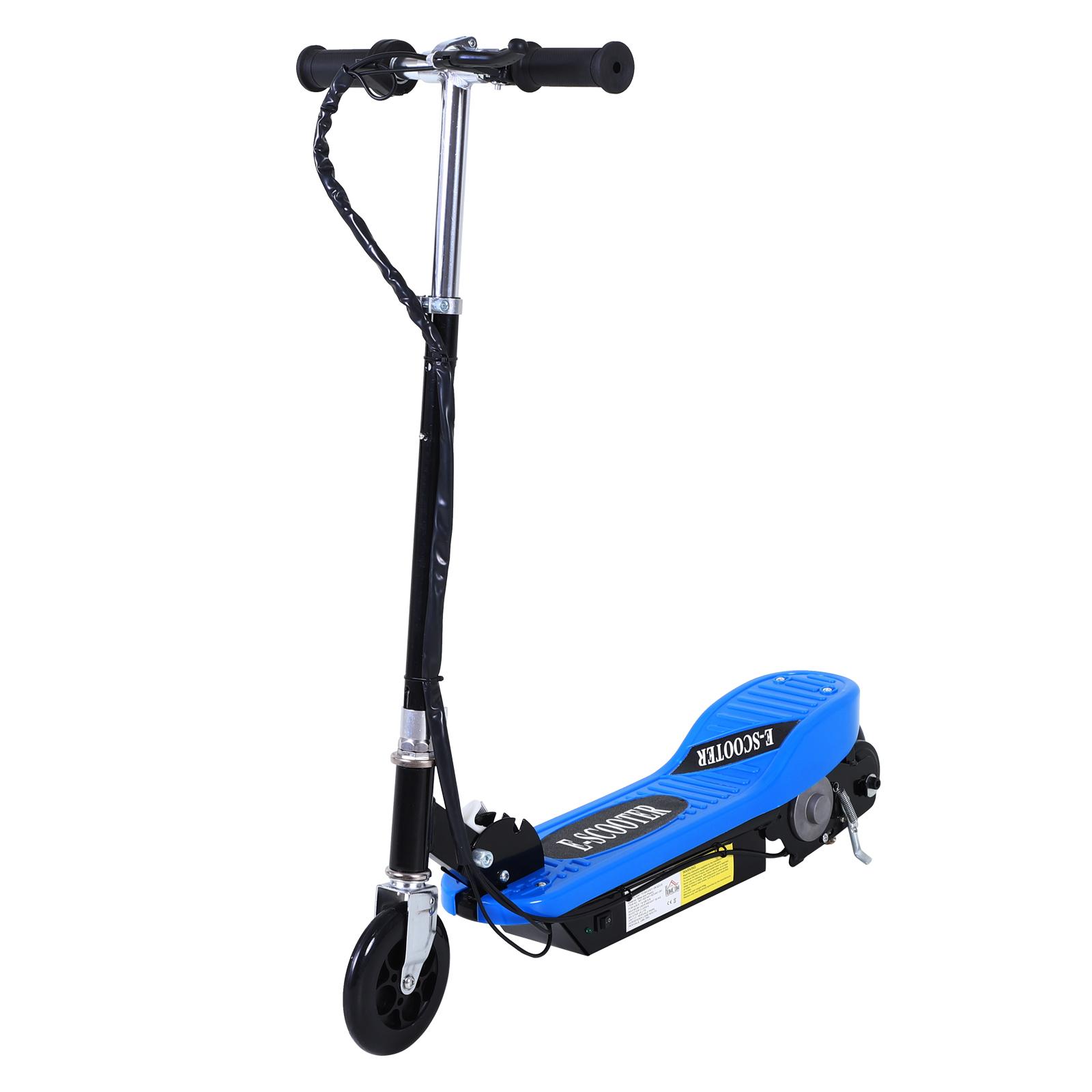 Patinete-Plegable-con-Manillar-Ajustable-tipo-Scooter-Electrico-de-Acero-Nuevo miniatura 3
