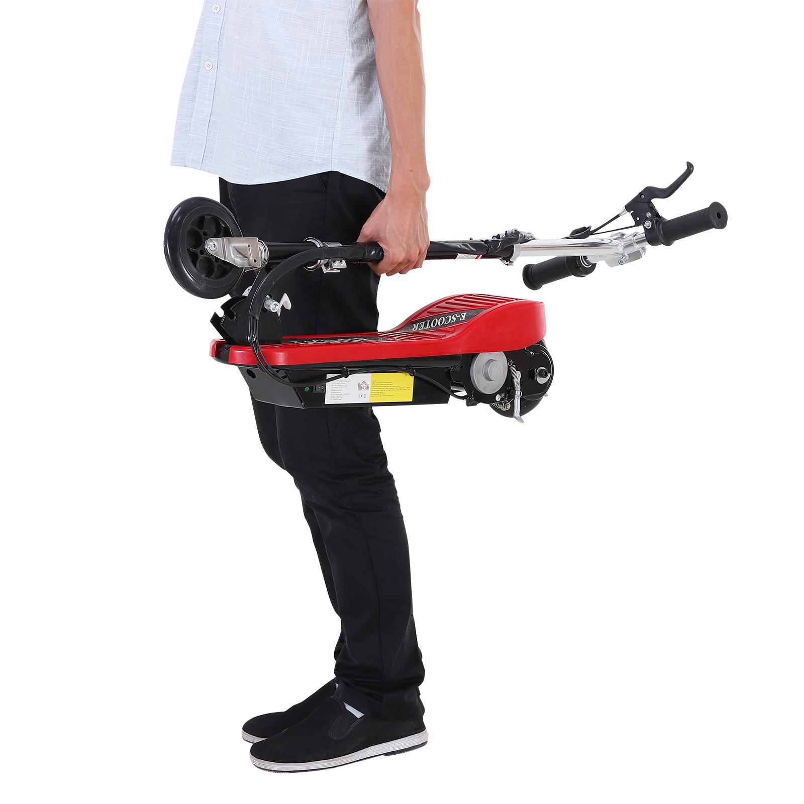 Patinete-Plegable-con-Manillar-Ajustable-tipo-Scooter-Electrico-de-Acero-Nuevo miniatura 33