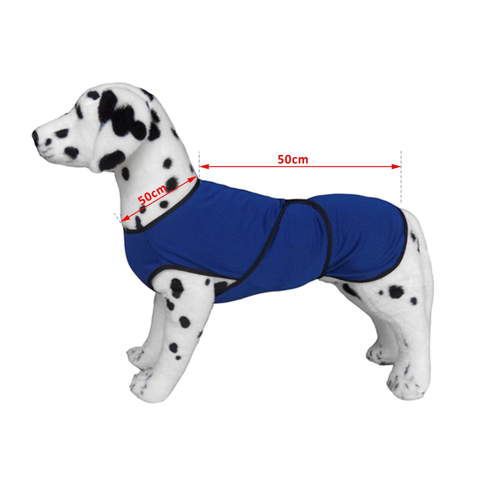 Chaqueta-Chaleco-de-Refrigeracion-Perro-Ropa-de-Verano-Chaleco-para-Mascotas miniatura 15