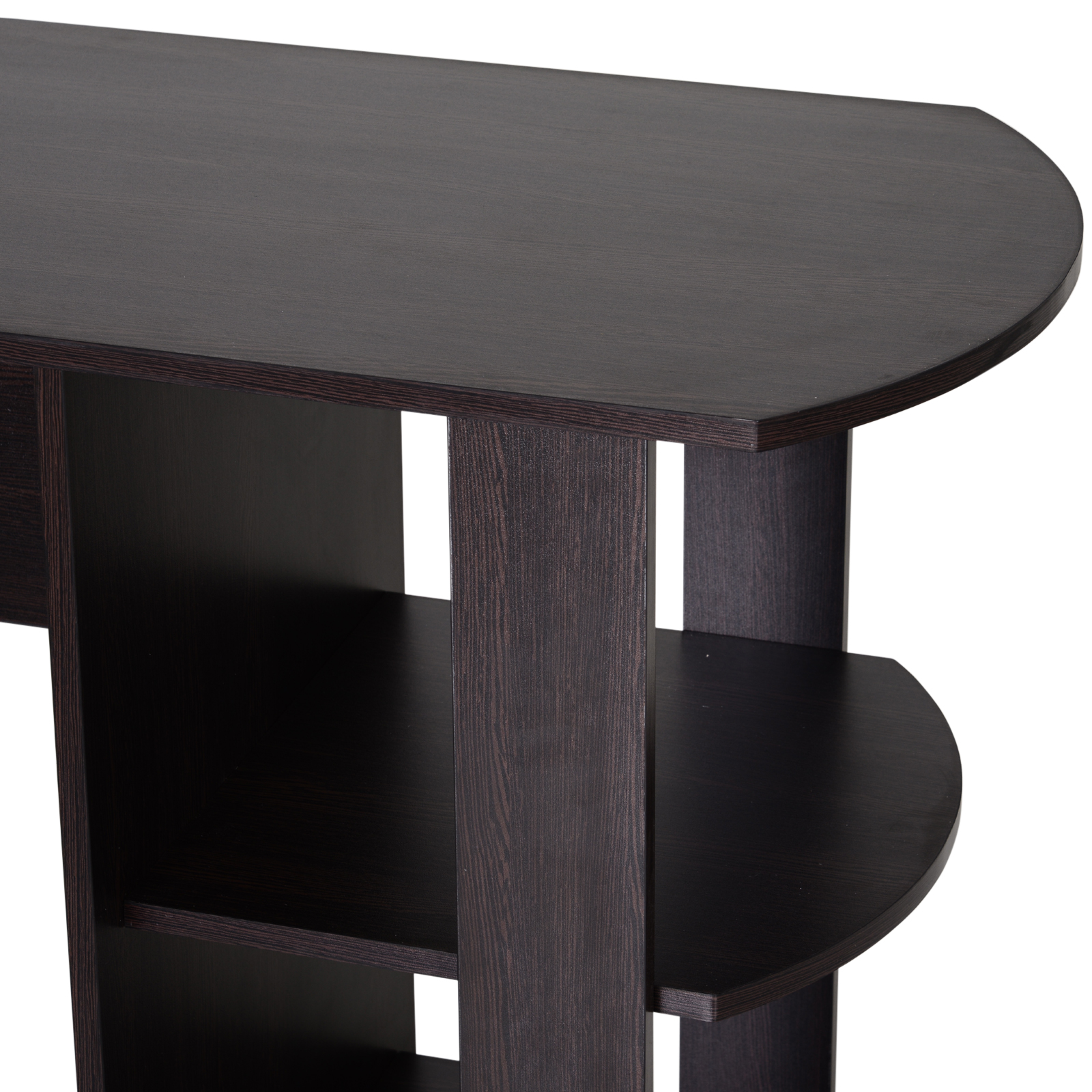Mesa-de-Ordenador-PC-Escritorio-para-Oficina-Hogar-Esquinera-Forma-L-Madera miniatura 10