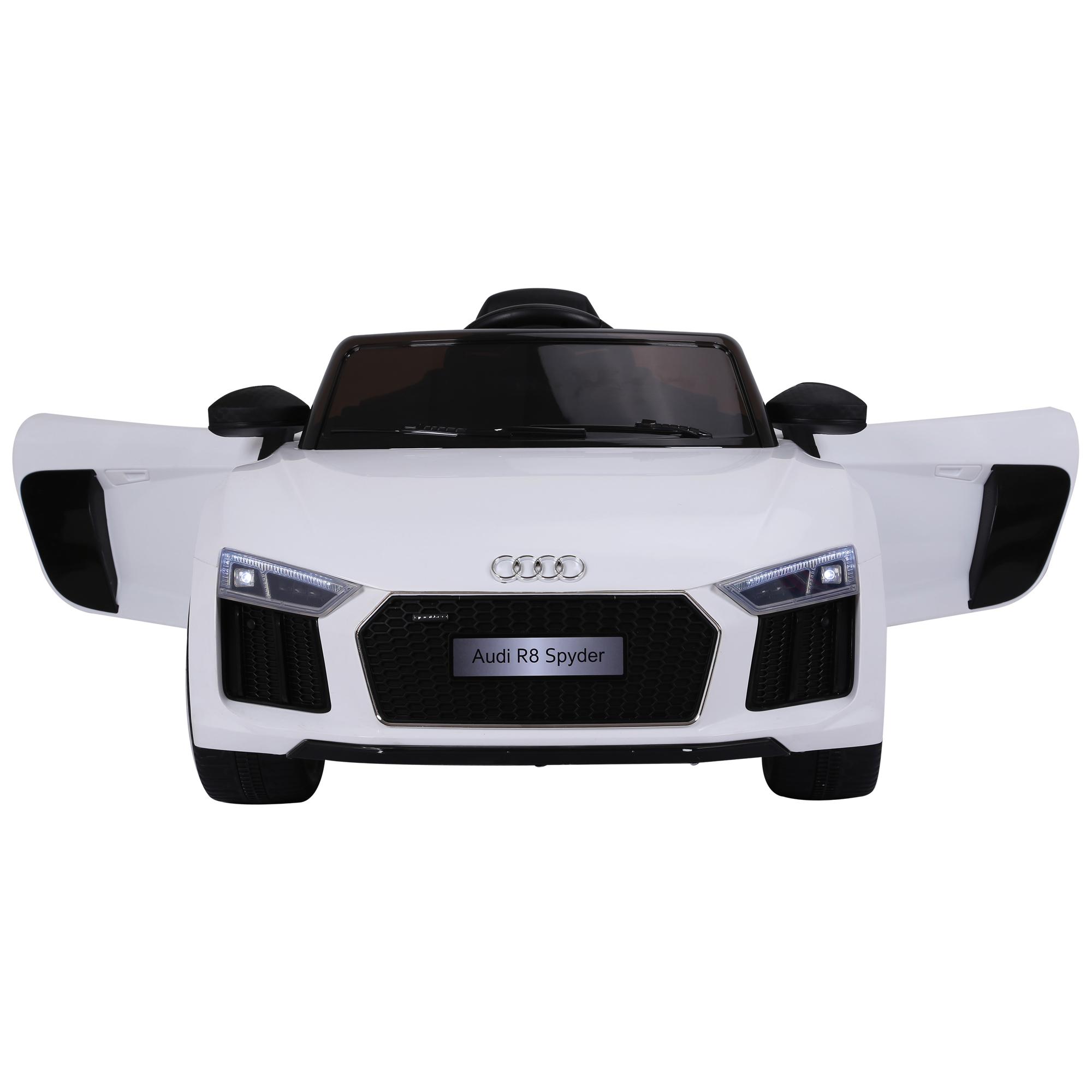 Coche-Electrico-para-Nino-3-8-Anos-Audi-R8-Bateria-12V-Control-Remoto-Carga-30kg miniatura 5