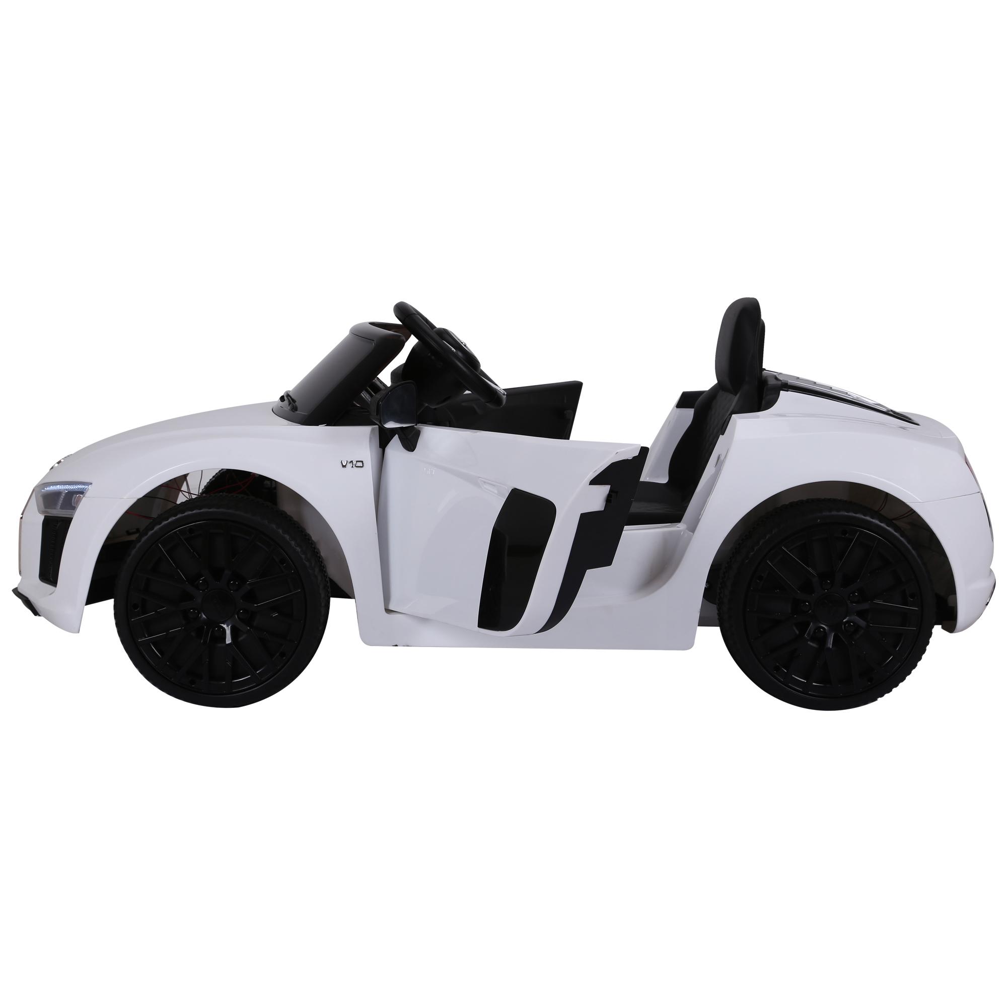 Coche-Electrico-para-Nino-3-8-Anos-Audi-R8-Bateria-12V-Control-Remoto-Carga-30kg miniatura 13