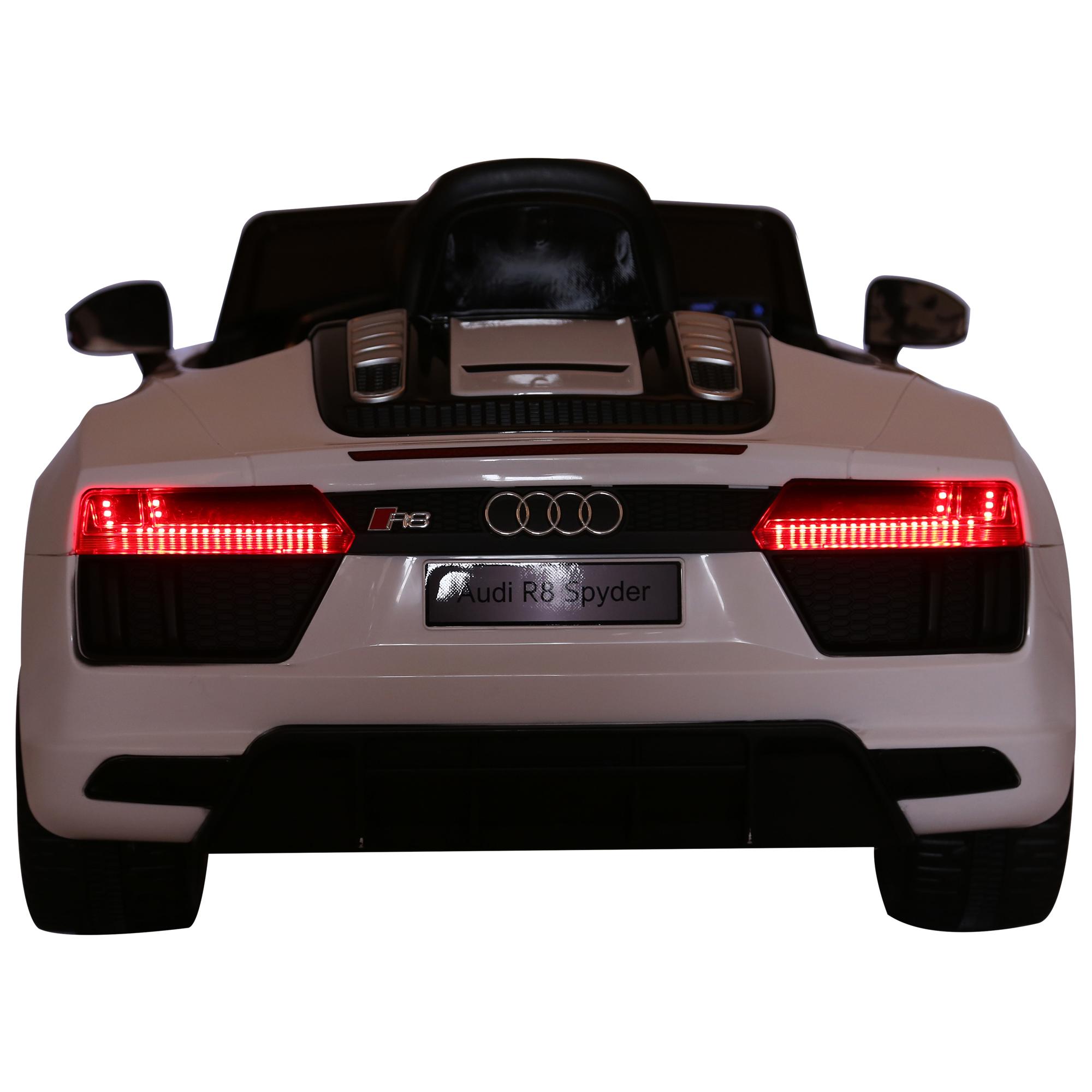 Coche-Electrico-para-Nino-3-8-Anos-Audi-R8-Bateria-12V-Control-Remoto-Carga-30kg miniatura 10