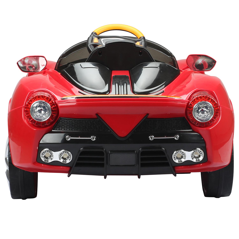 Coche-Electrico-de-Bateria-para-Ninos-Infantil-3-8-Anos-Musica-3-MODELOS miniatura 9