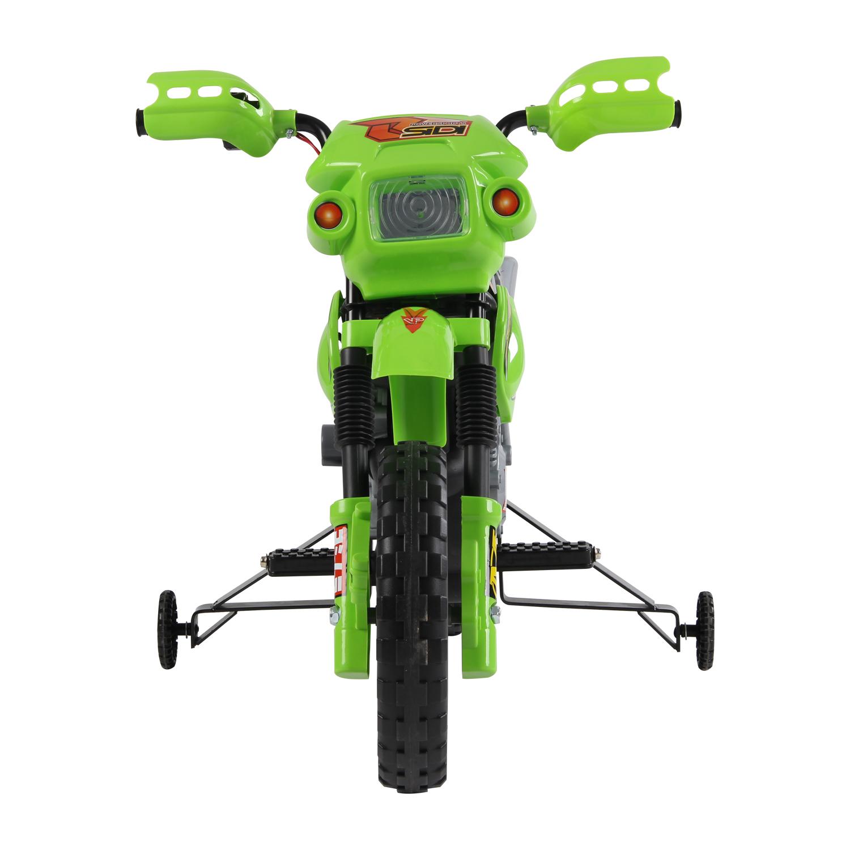 Moto-Electrica-Infantil-Bateria-Recargable-6V-Ninos-3-Anos-Cargador-Ruedas-Apoyo miniatura 12