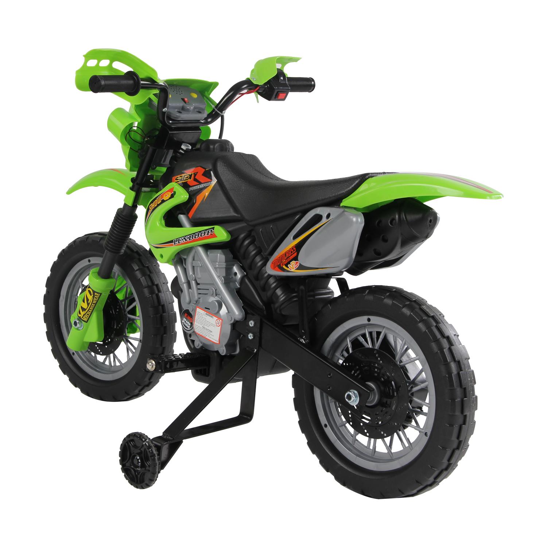 Moto-Electrica-Infantil-Bateria-Recargable-6V-Ninos-3-Anos-Cargador-Ruedas-Apoyo miniatura 13