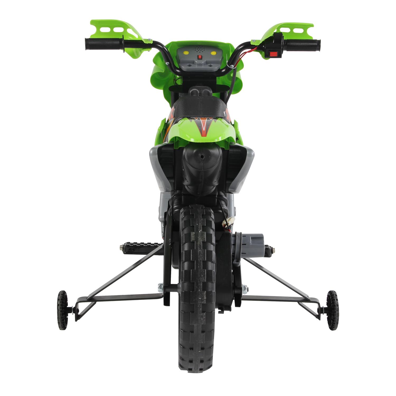 Moto-Electrica-Infantil-Bateria-Recargable-6V-Ninos-3-Anos-Cargador-Ruedas-Apoyo miniatura 11