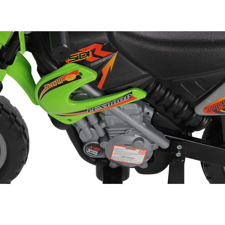 Moto-Electrica-Infantil-Bateria-Recargable-6V-Ninos-3-Anos-Cargador-Ruedas-Apoyo miniatura 9