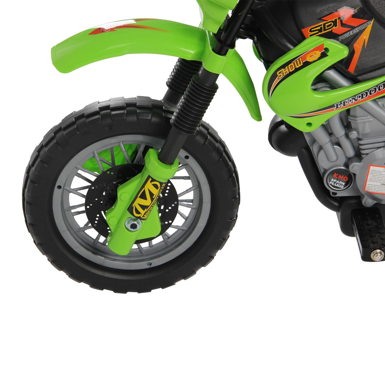 Moto-Electrica-Infantil-Bateria-Recargable-6V-Ninos-3-Anos-Cargador-Ruedas-Apoyo miniatura 5
