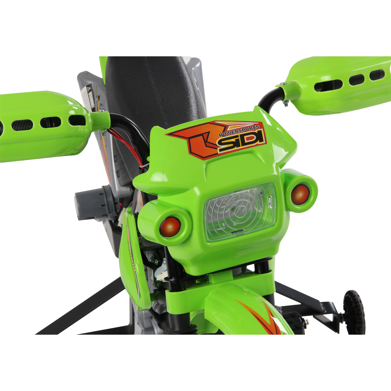 Moto-Electrica-Infantil-Bateria-Recargable-6V-Ninos-3-Anos-Cargador-Ruedas-Apoyo miniatura 4