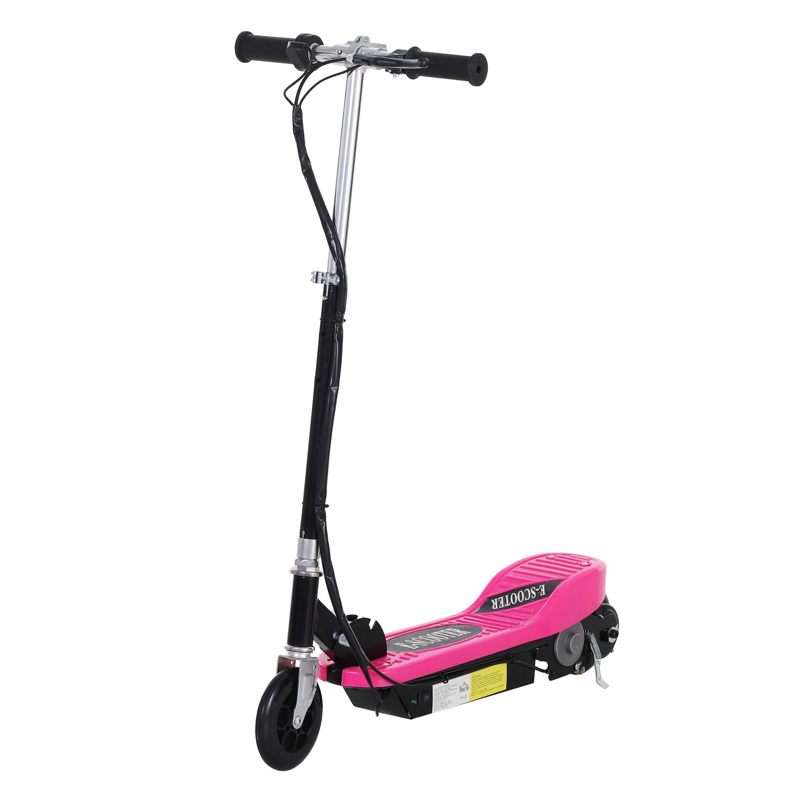Patinete-Plegable-con-Manillar-Ajustable-tipo-Scooter-Electrico-de-Acero-Nuevo miniatura 39