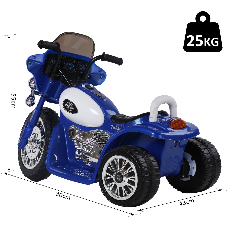 HOMCOM-Moto-Electrique-pour-Enfants-Chopper-Police-6-V-2-5-Km-h