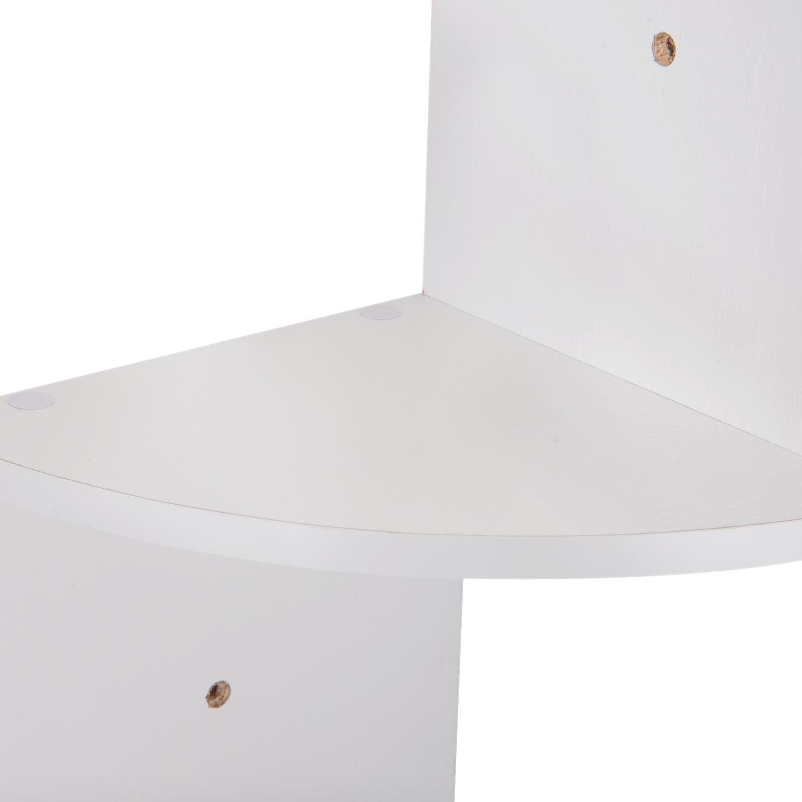 Etagere-d-Angle-Etagere-Murale-Zigzag-5-Niveaux-20-x-20-x-126-cm miniature 10