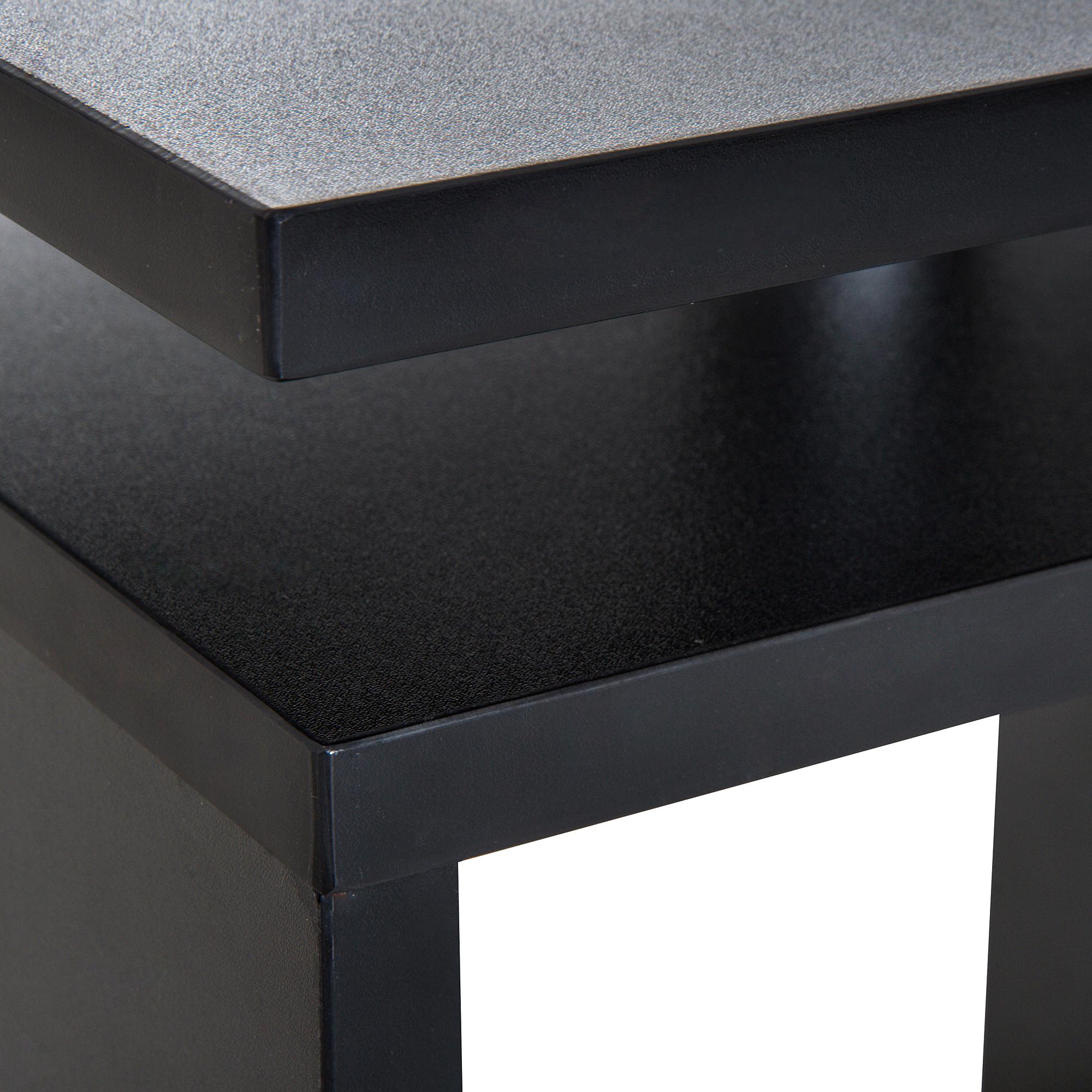 Details Sur Homcom Table Basse Contemporaine Design Geometrique