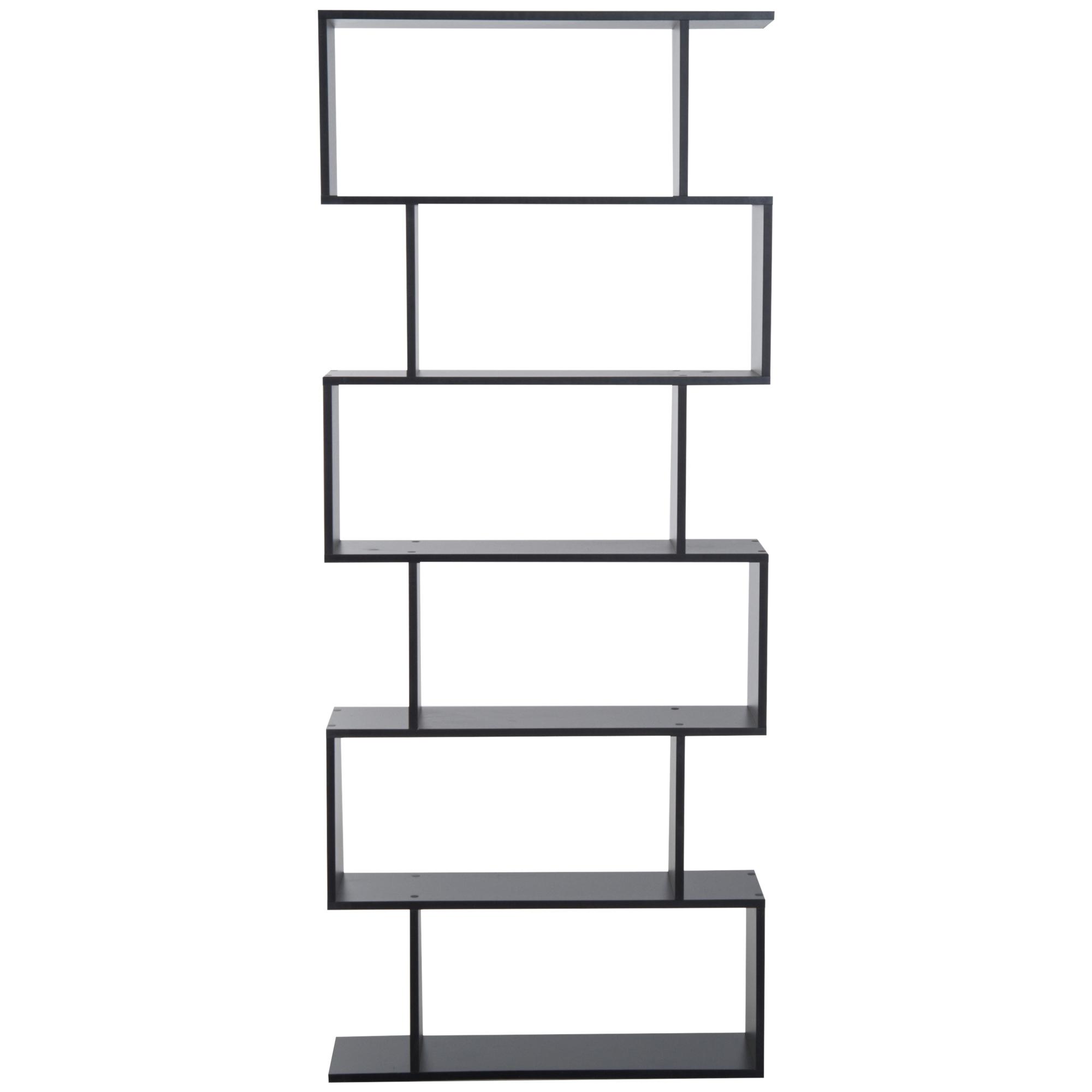 HOMCOM-Bibliotheque-Etagere-de-Rangement-en-Forme-S-6-Niveaux