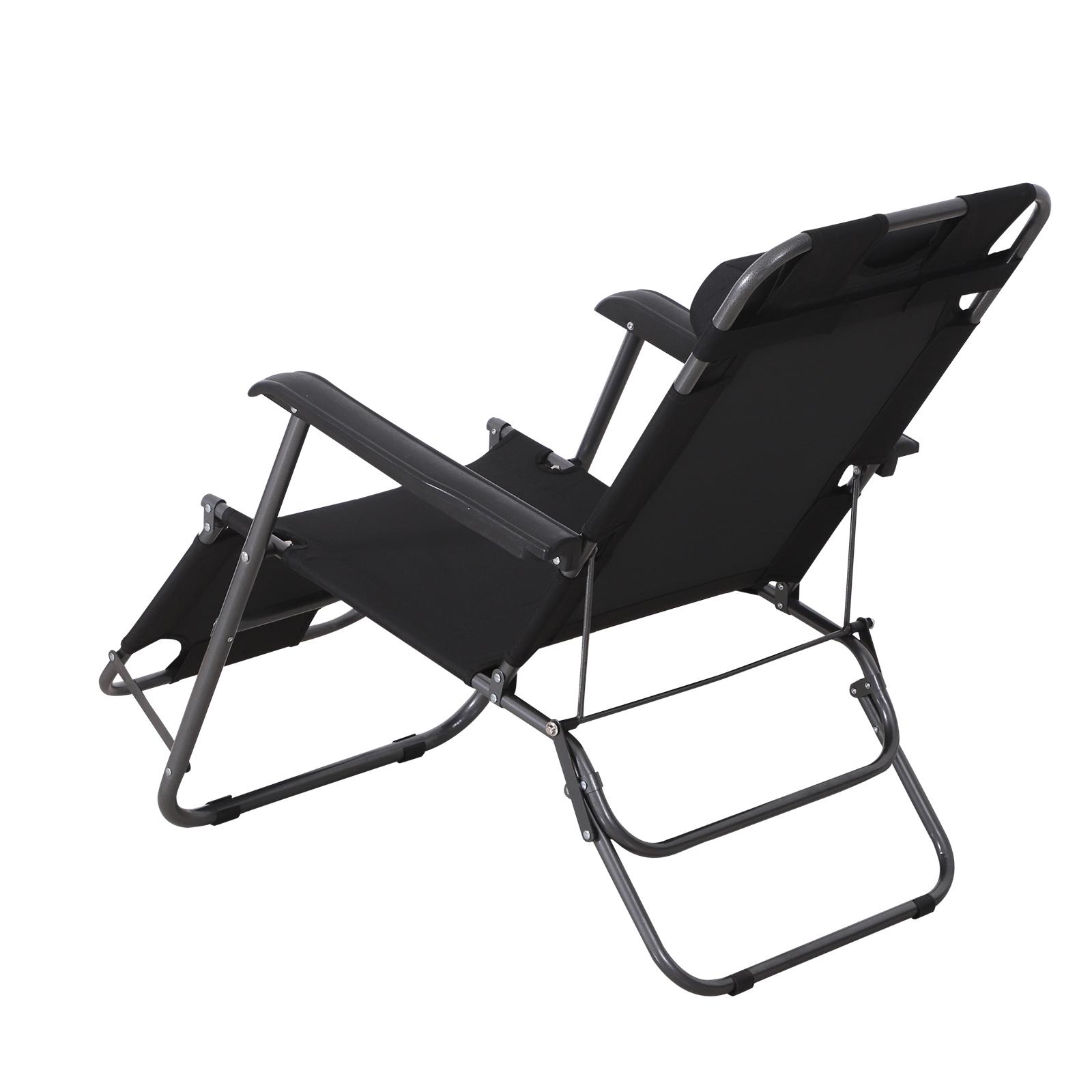bain de soleil chaise longue transat de jardin pliable. Black Bedroom Furniture Sets. Home Design Ideas