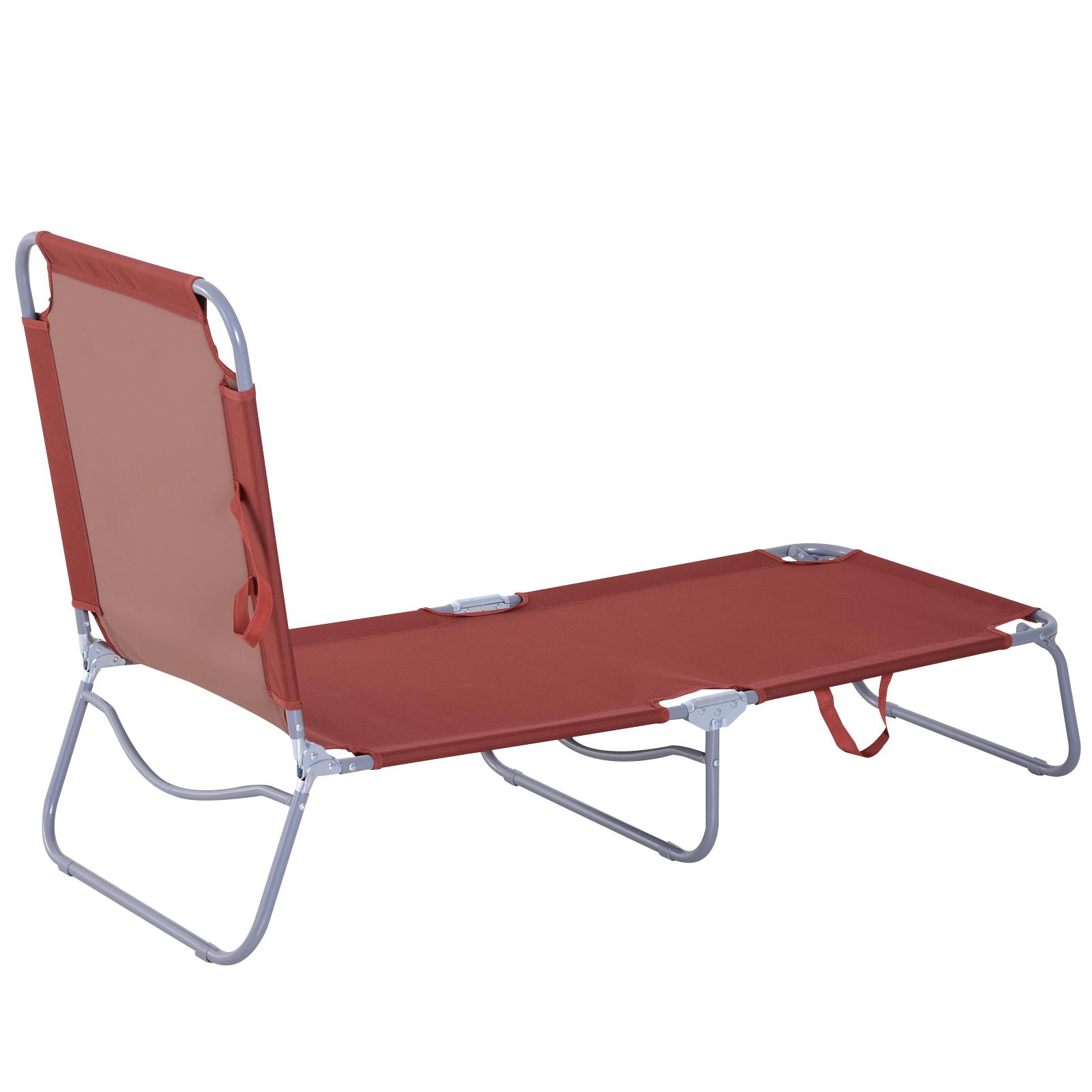 chaise longue pliante bain de soleil pliable 180x55x24cm. Black Bedroom Furniture Sets. Home Design Ideas