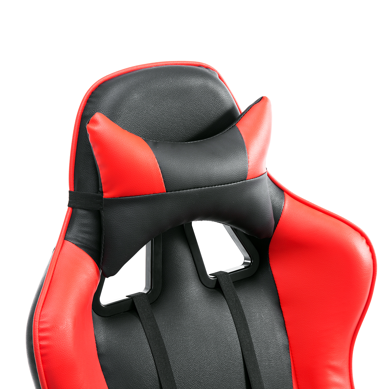 HOMCOM-Chaise-Fauteuil-Siege-de-Bureau-Racing-Gamer-Hauteur-Reglable miniature 35
