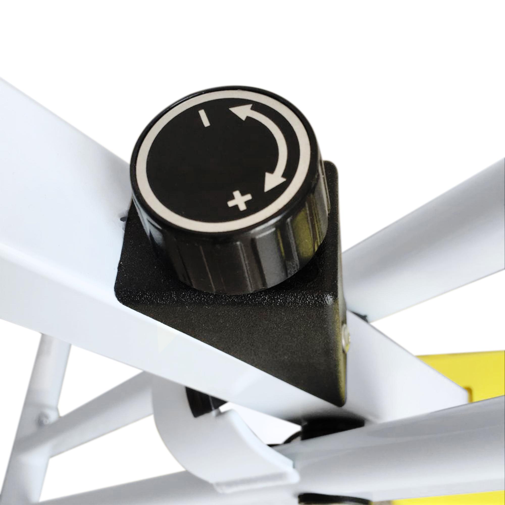 Velo-d-Appartement-Cardio-Pliable-Ecran-LCD-Capteurs-de-Pouls-Acier miniature 8