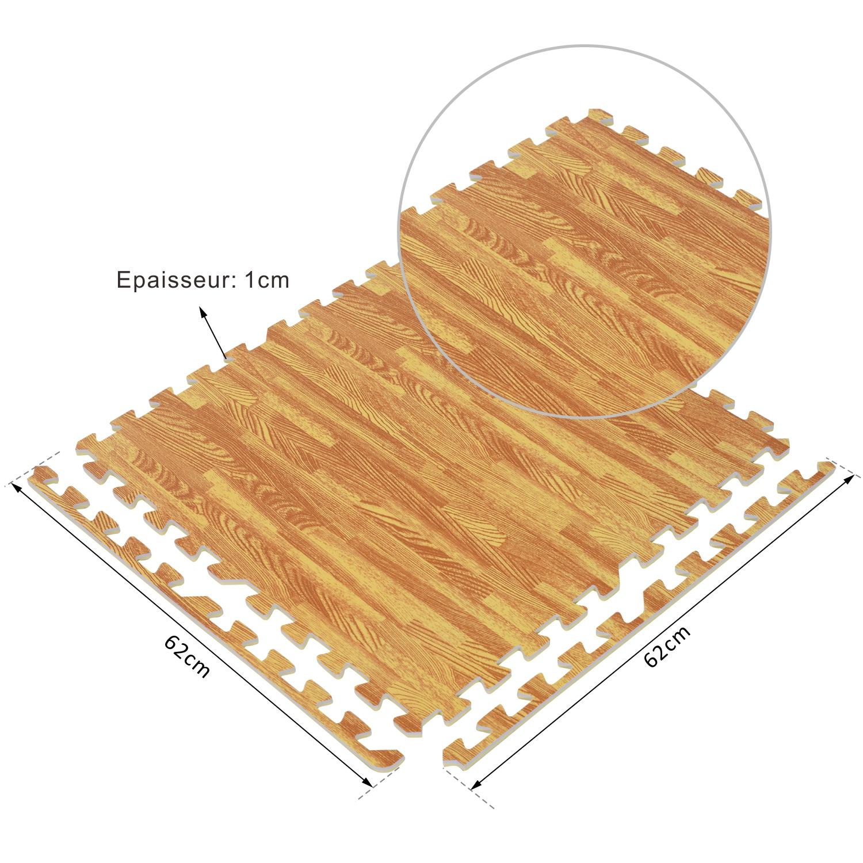 30 x tapis mousse de sol tapis de protection sol gym. Black Bedroom Furniture Sets. Home Design Ideas
