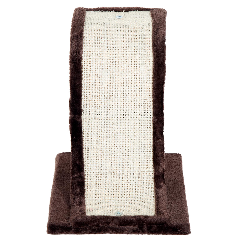 PawHut-Griffoir-a-chat-avec-Tronc-et-Boule-Suspendue-Peluche-et-Sisal miniature 23