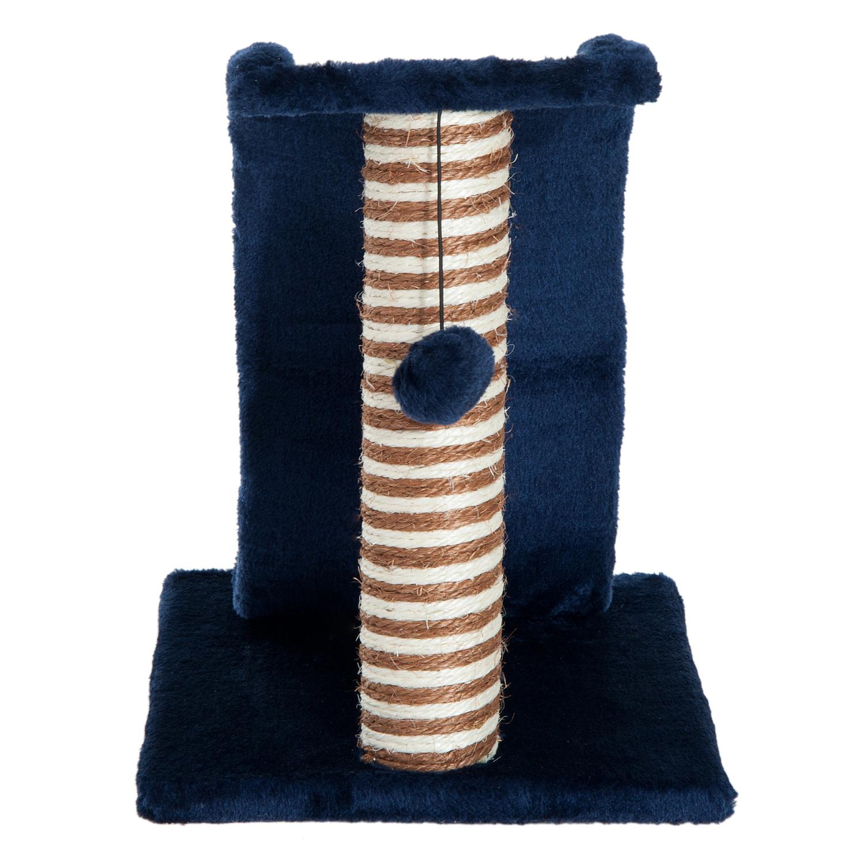 PawHut-Griffoir-a-chat-avec-Tronc-et-Boule-Suspendue-Peluche-et-Sisal miniature 8