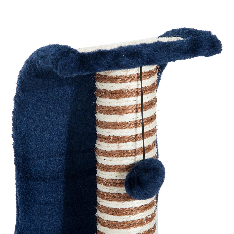 PawHut-Griffoir-a-chat-avec-Tronc-et-Boule-Suspendue-Peluche-et-Sisal miniature 10