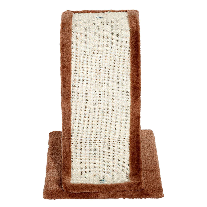 PawHut-Griffoir-a-chat-avec-Tronc-et-Boule-Suspendue-Peluche-et-Sisal miniature 14