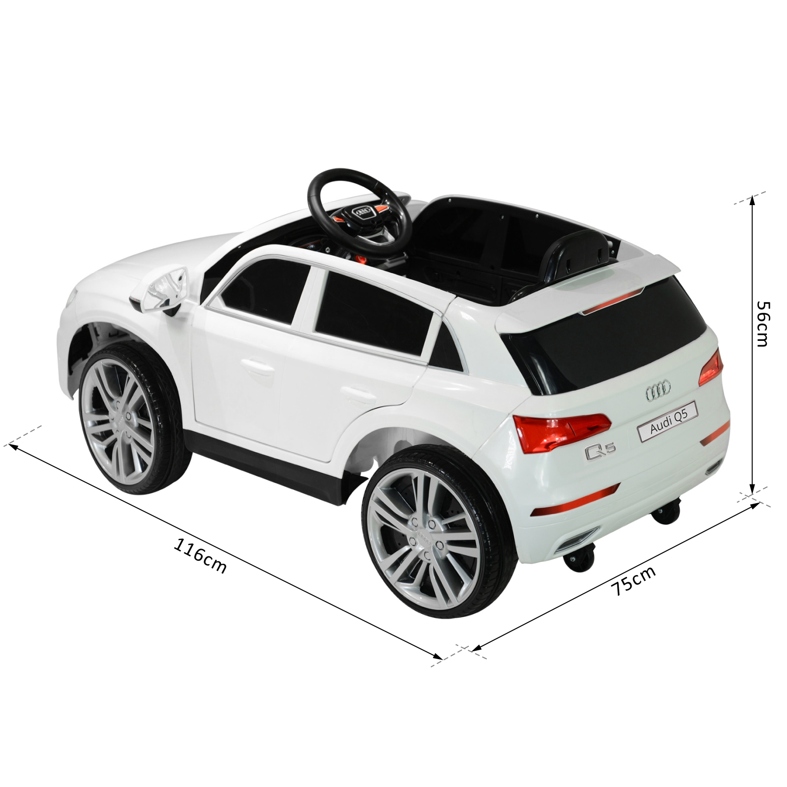 Kinderauto Audi Q5 Elektroauto Elektroauto Elektroauto Kinderfahrzeug mit Fernbedienung Kinder 2 Farben d318a0