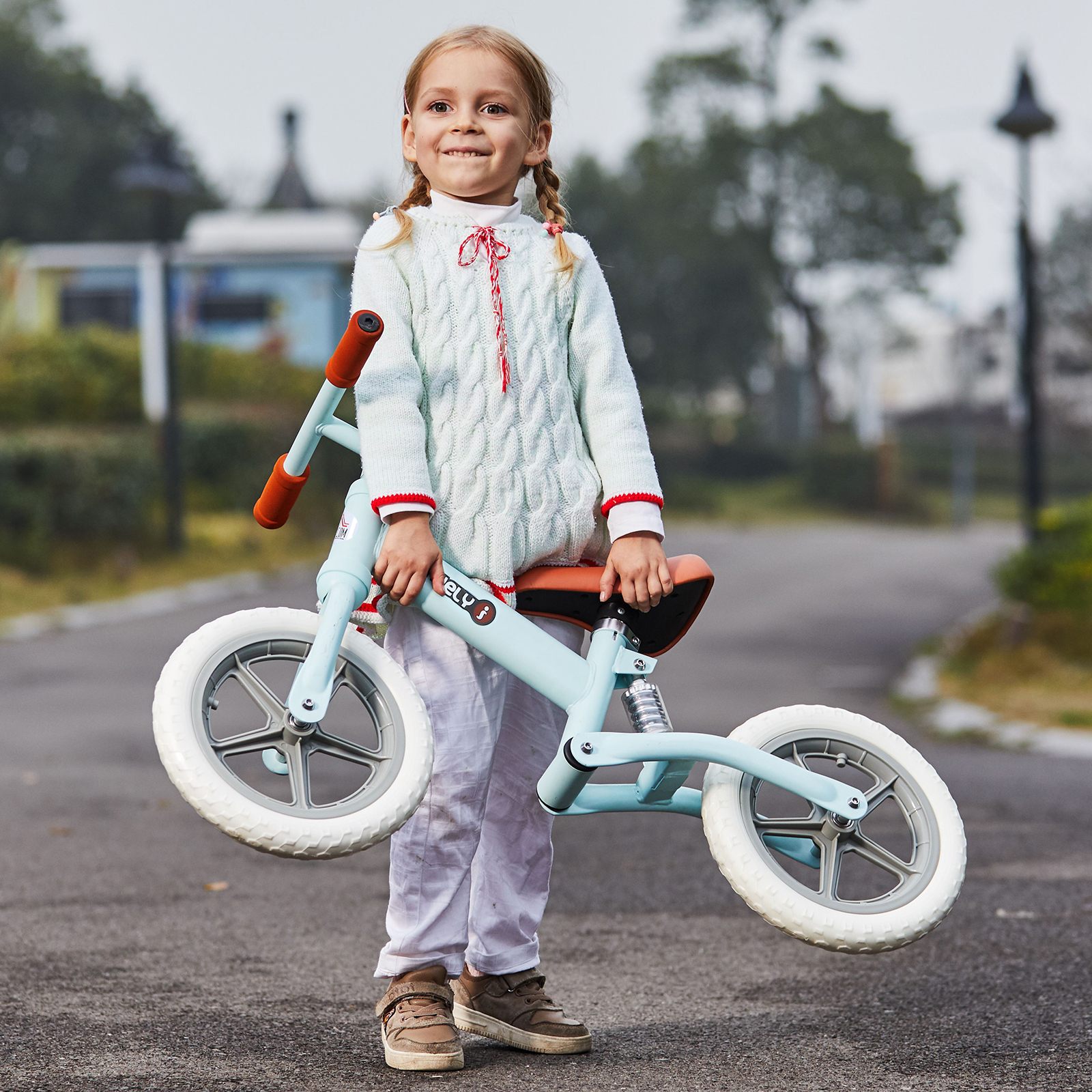 Indexbild 18 - HOMCOM Laufrad mit Stoßdämpfer Kinderrad Lauflernrad Balance Bike 2-5 Jahre