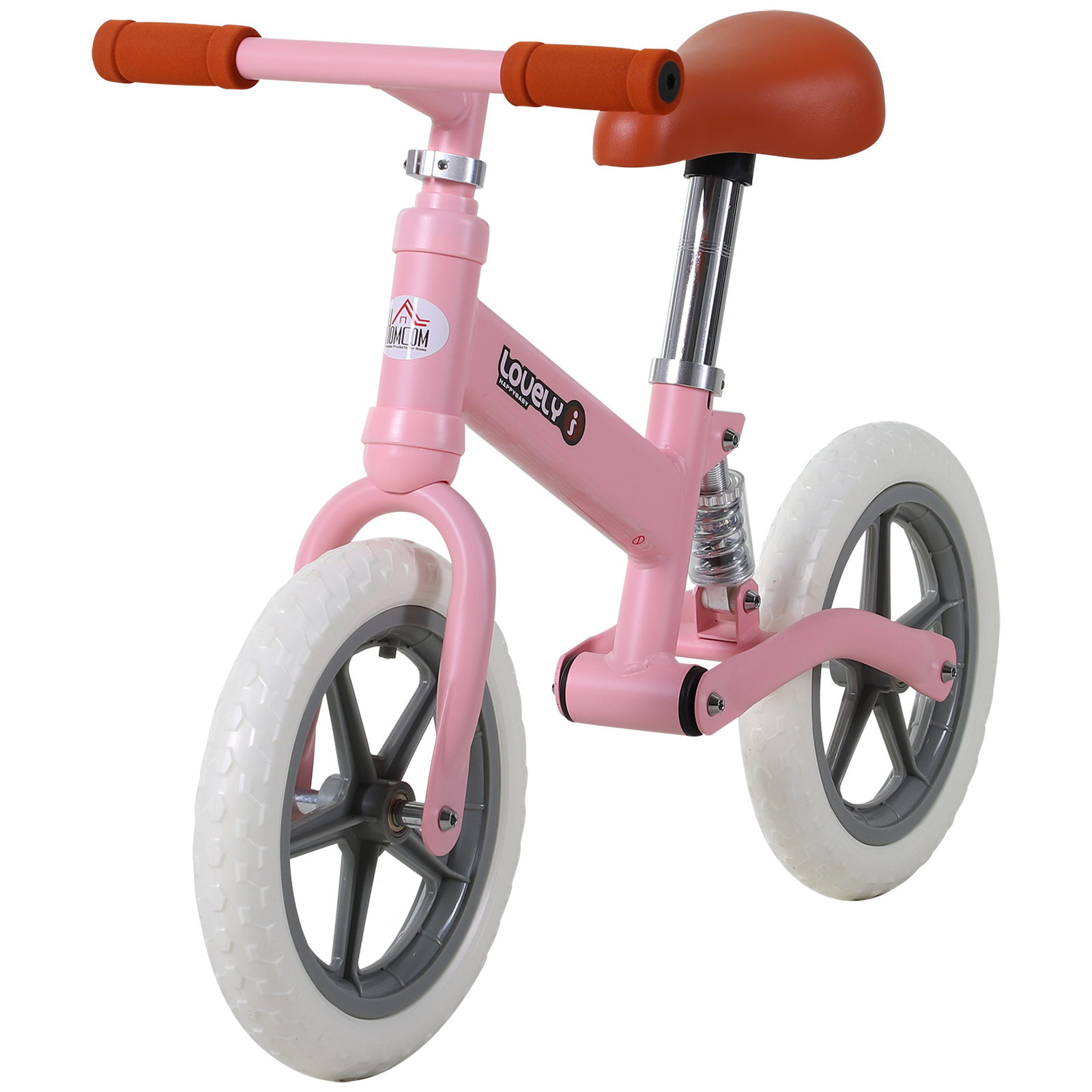 Indexbild 25 - HOMCOM Laufrad mit Stoßdämpfer Kinderrad Lauflernrad Balance Bike 2-5 Jahre