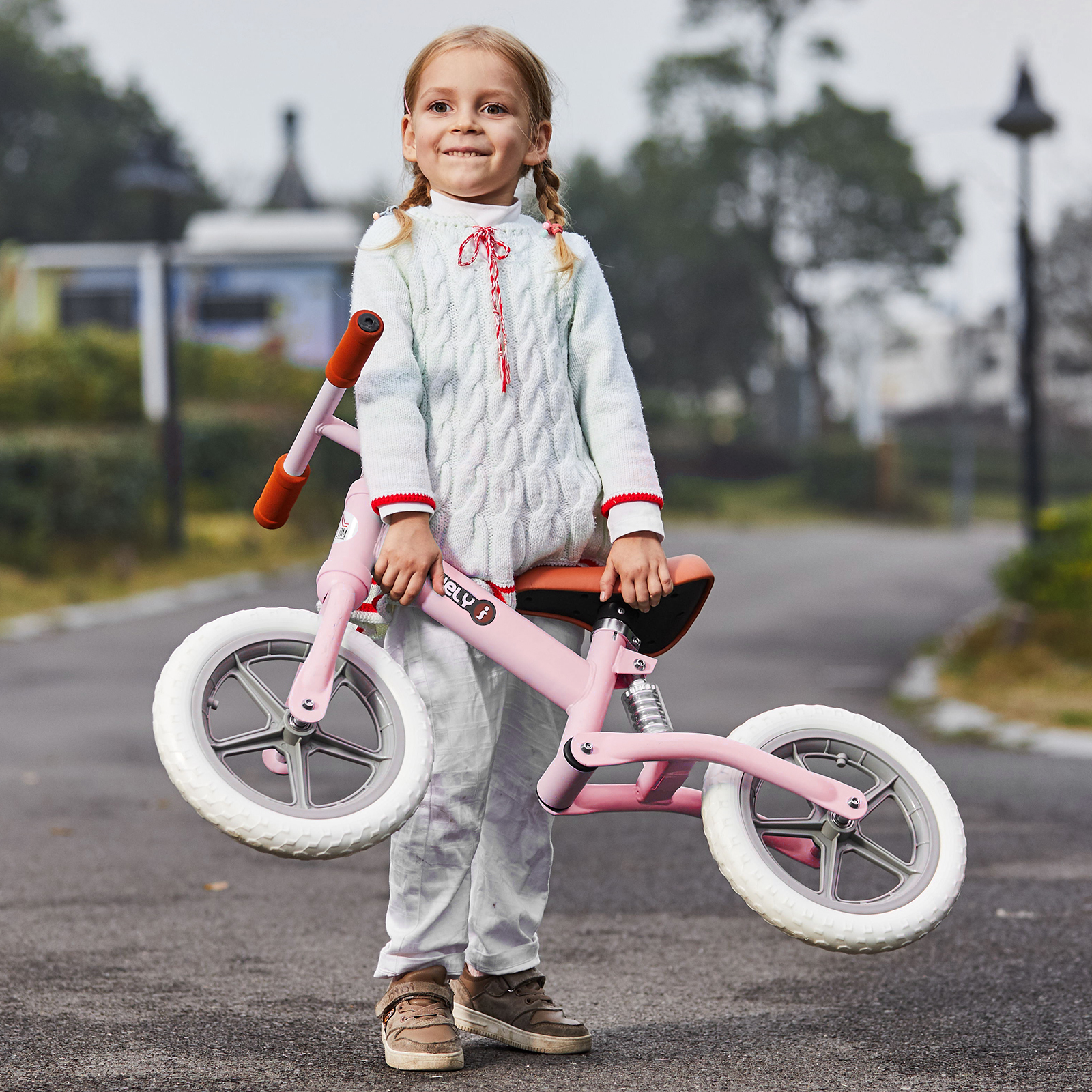 Indexbild 29 - HOMCOM Laufrad mit Stoßdämpfer Kinderrad Lauflernrad Balance Bike 2-5 Jahre