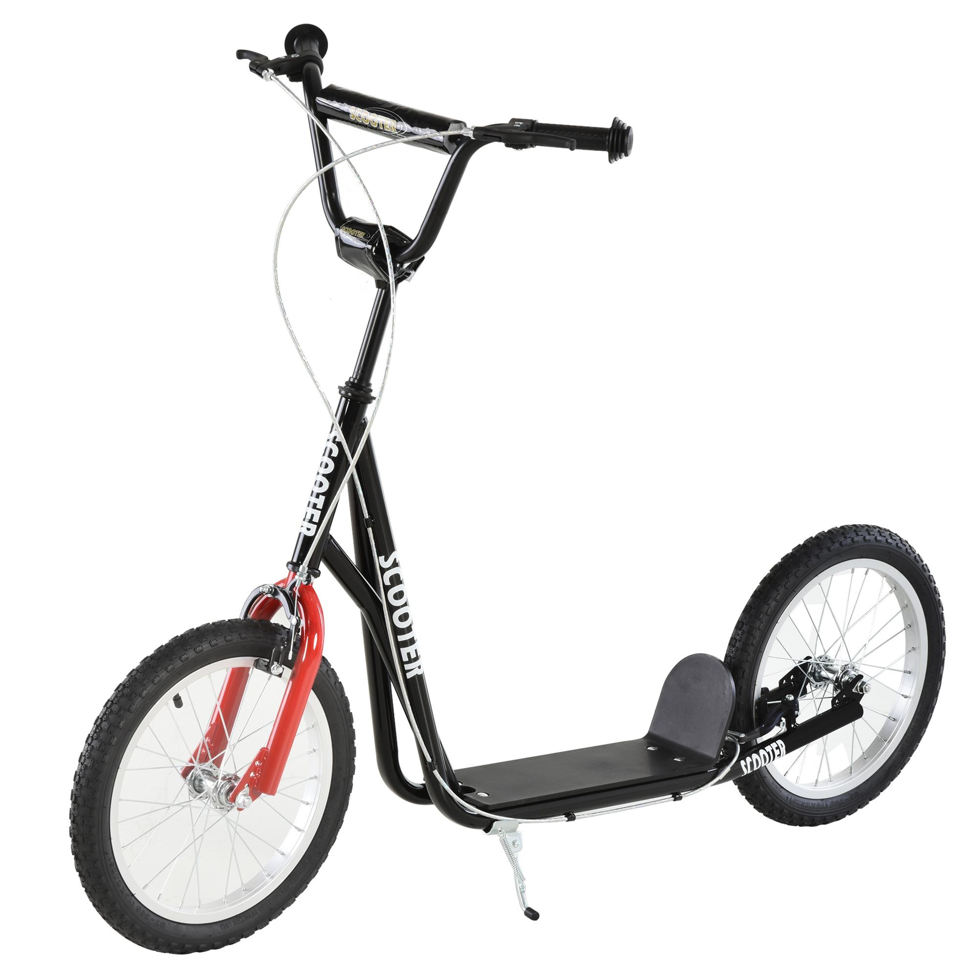 Indexbild 36 - HOMCOM-Tretroller-Kinderroller-Scooter-Cityroller-Roller-verstellbar-Blau-Gruen