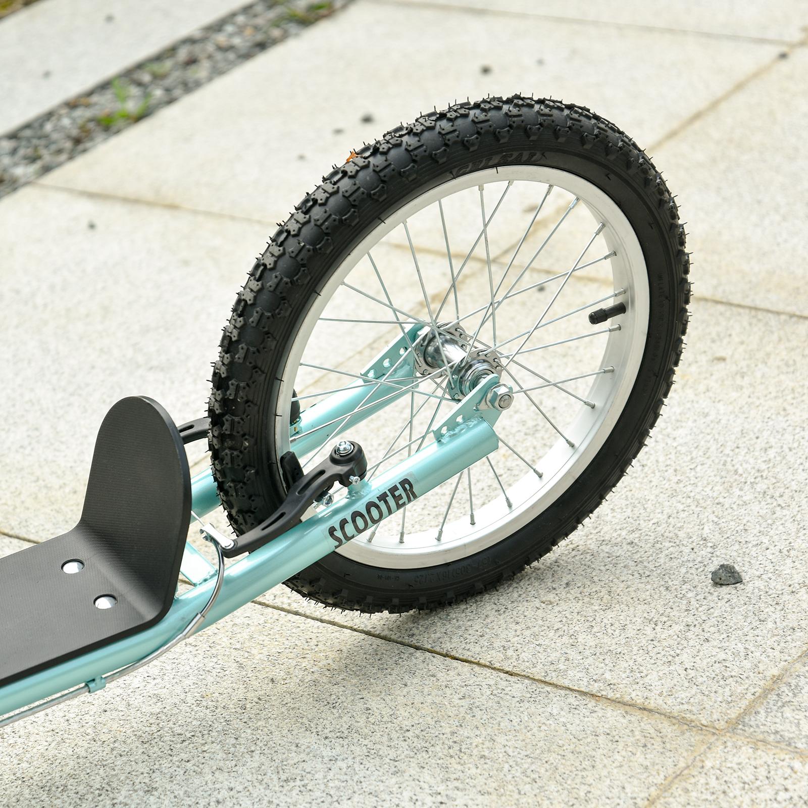 Indexbild 16 - HOMCOM-Tretroller-Kinderroller-Scooter-Cityroller-Roller-verstellbar-Blau-Gruen