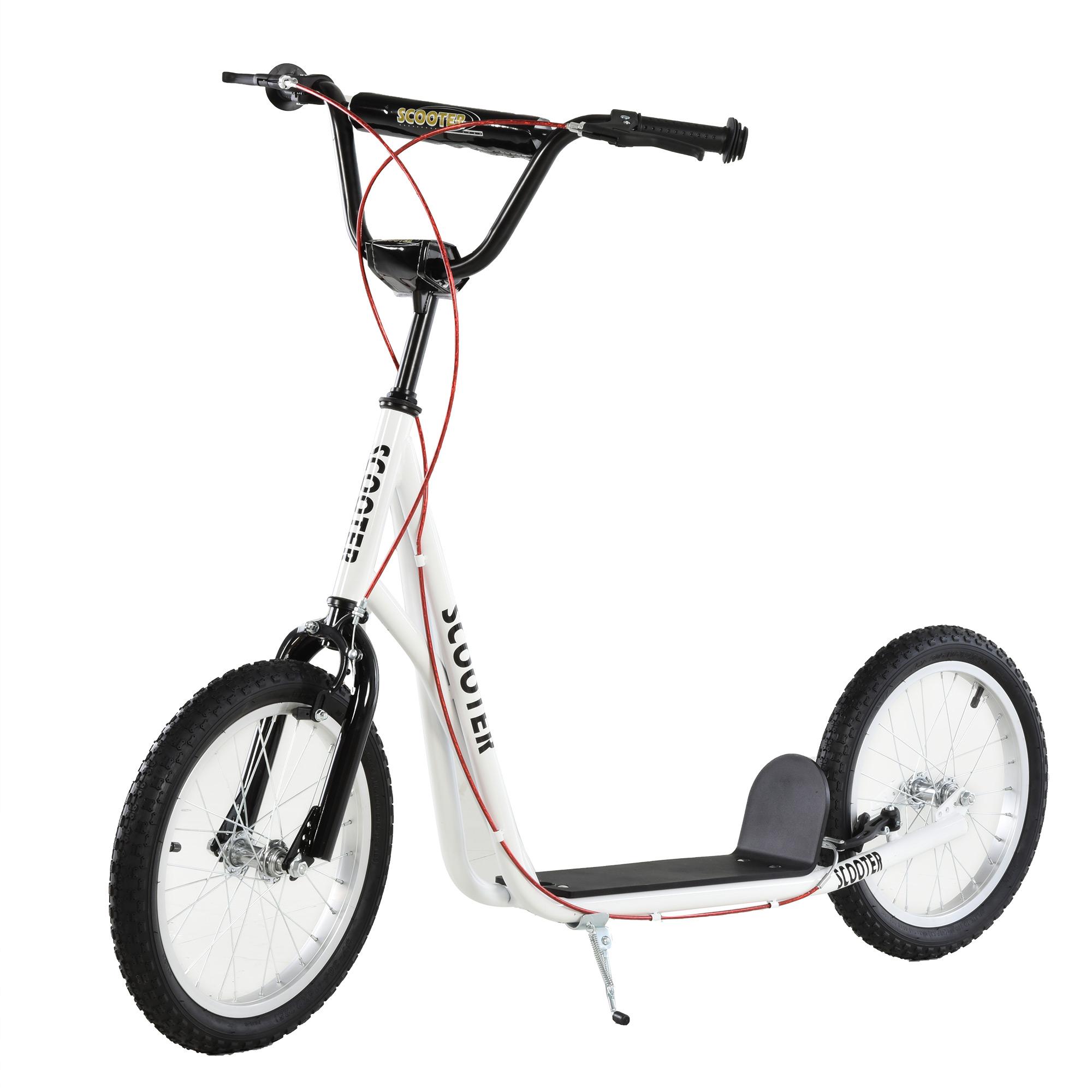 Indexbild 46 - HOMCOM-Tretroller-Kinderroller-Scooter-Cityroller-Roller-verstellbar-Blau-Gruen